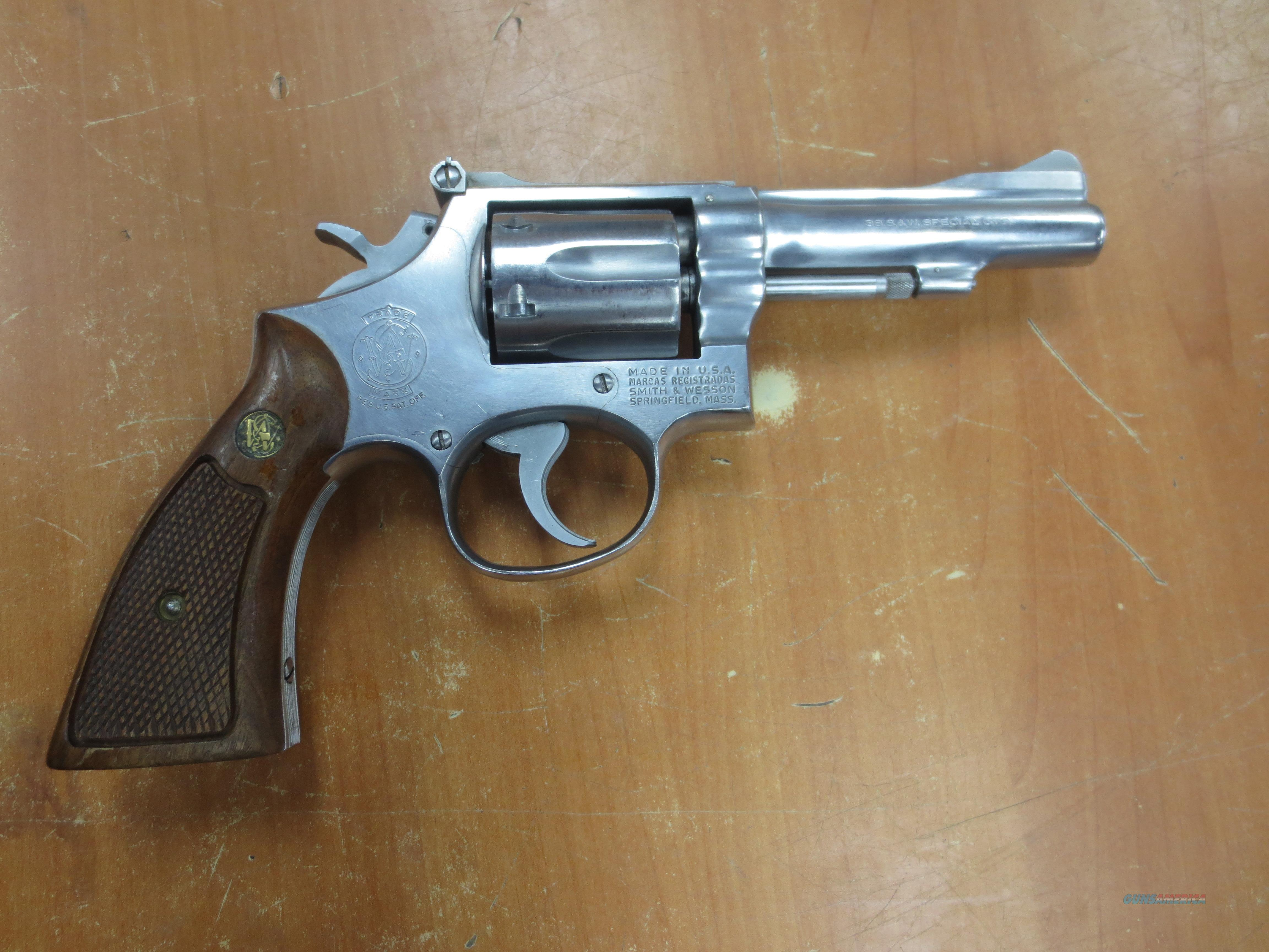 S&W model 67 Double Action Only 6 Shot .38 S&W  Guns > Pistols > Smith & Wesson Revolvers > Full Frame Revolver