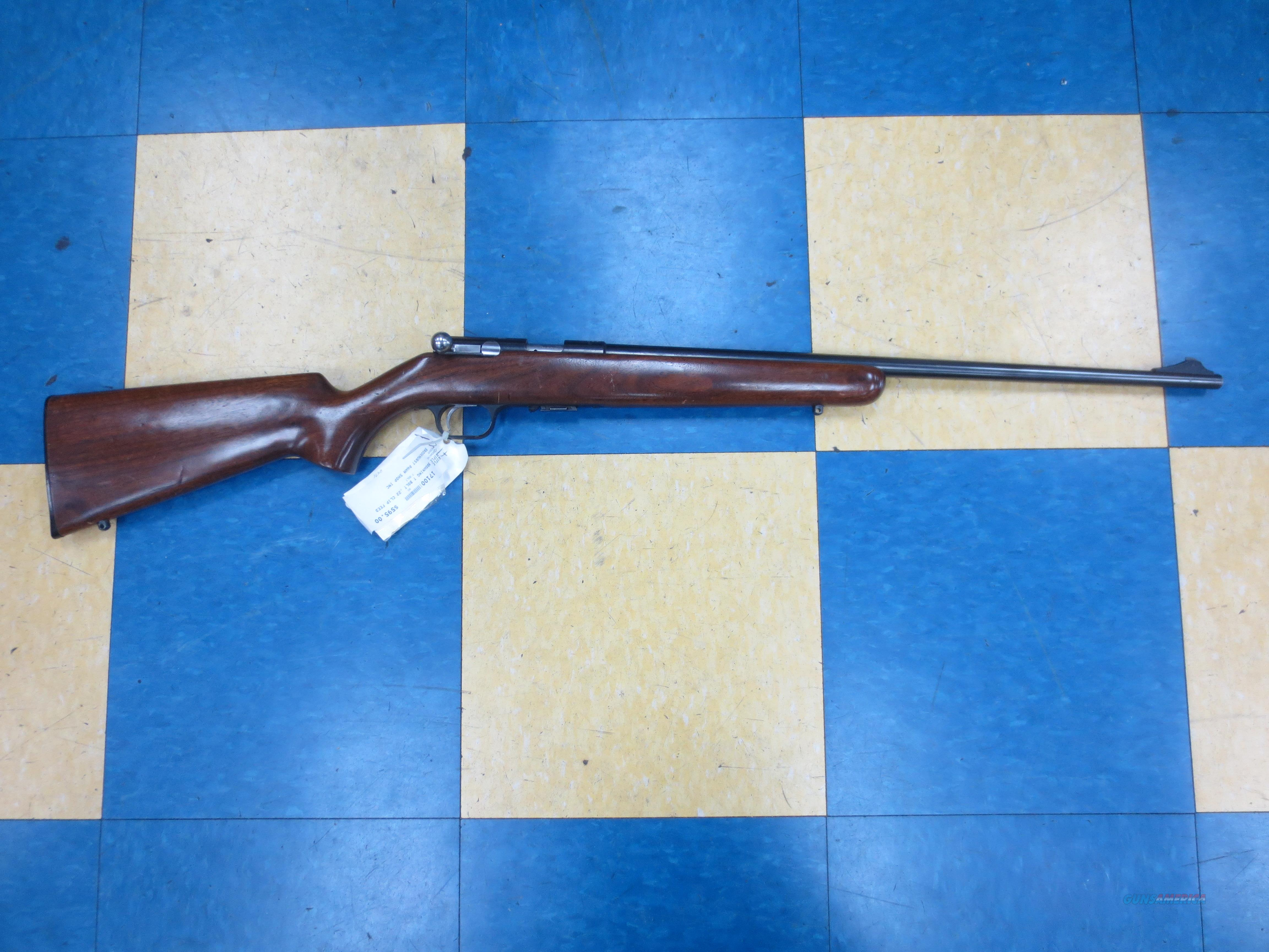 Browning Mod# T-BOLT  T-1 (1965 vintage) made in belgium  Guns > Rifles > Browning Rifles > Bolt Action > Hunting > Blue