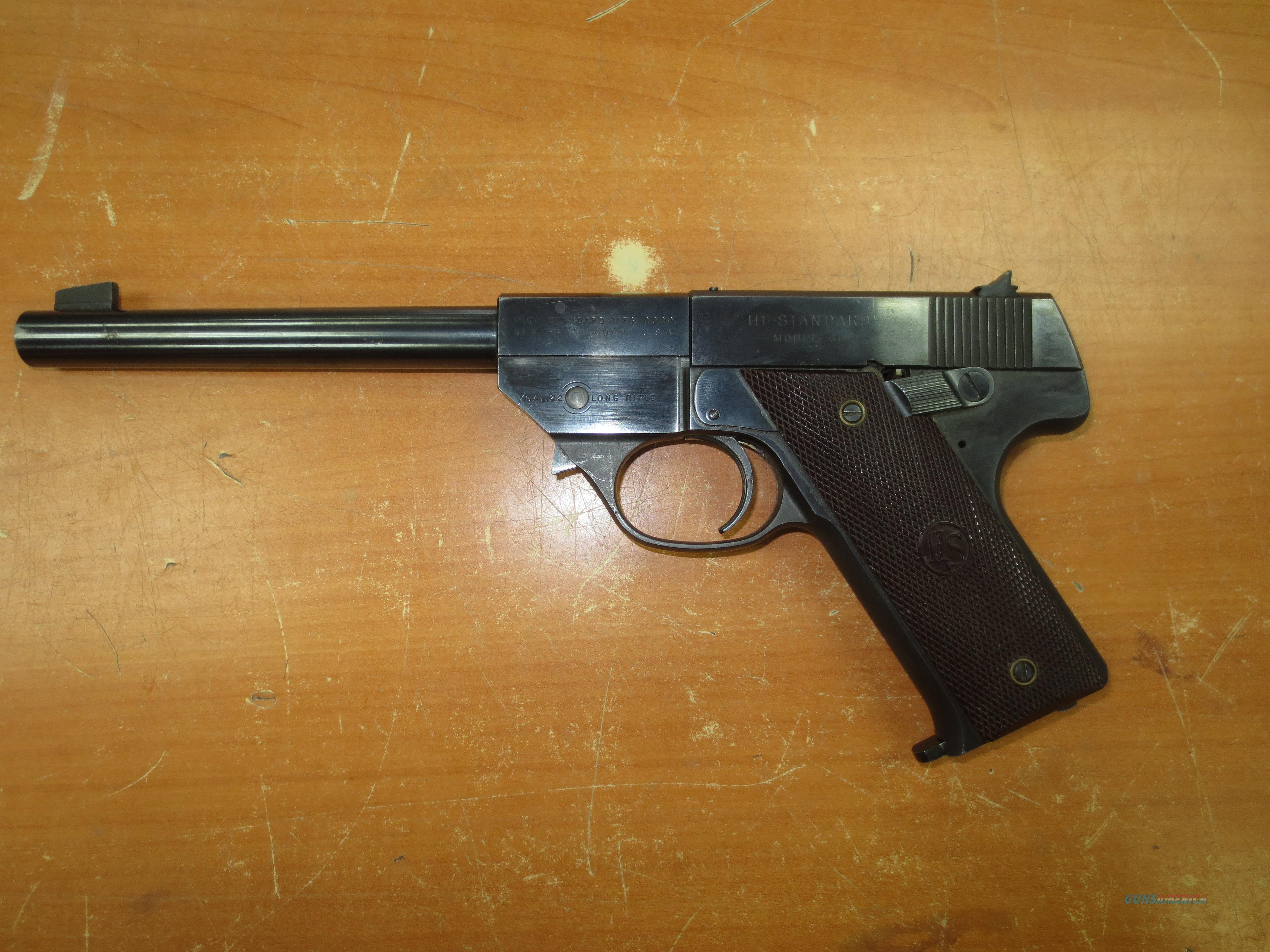 Hi-Standard Model GB .22LR with Barrel Release  Guns > Pistols > High Standard Pistols