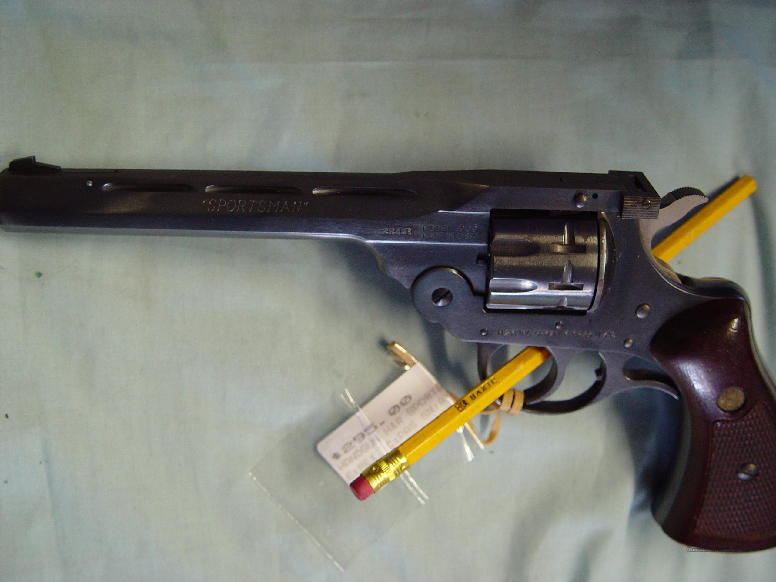 H&R mod# 999 DA revolver 9 shot .22 cal  Guns > Pistols > Harrington & Richardson Pistols