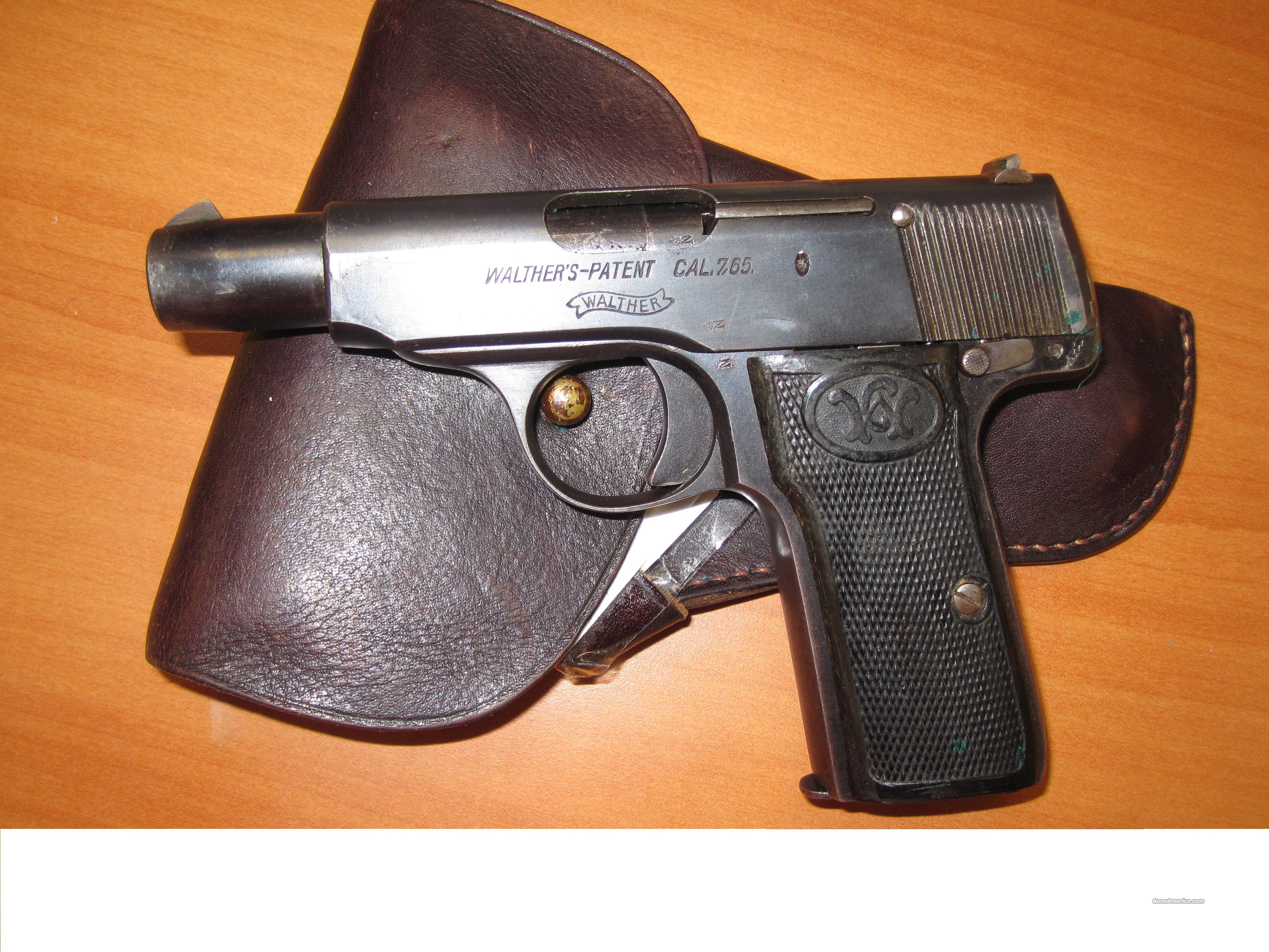 "Walther mod#4 7.65 cal 3.5"" barrel (vintage 1910)  Guns > Pistols > Walther Pistols > Pre-1945 > Other"