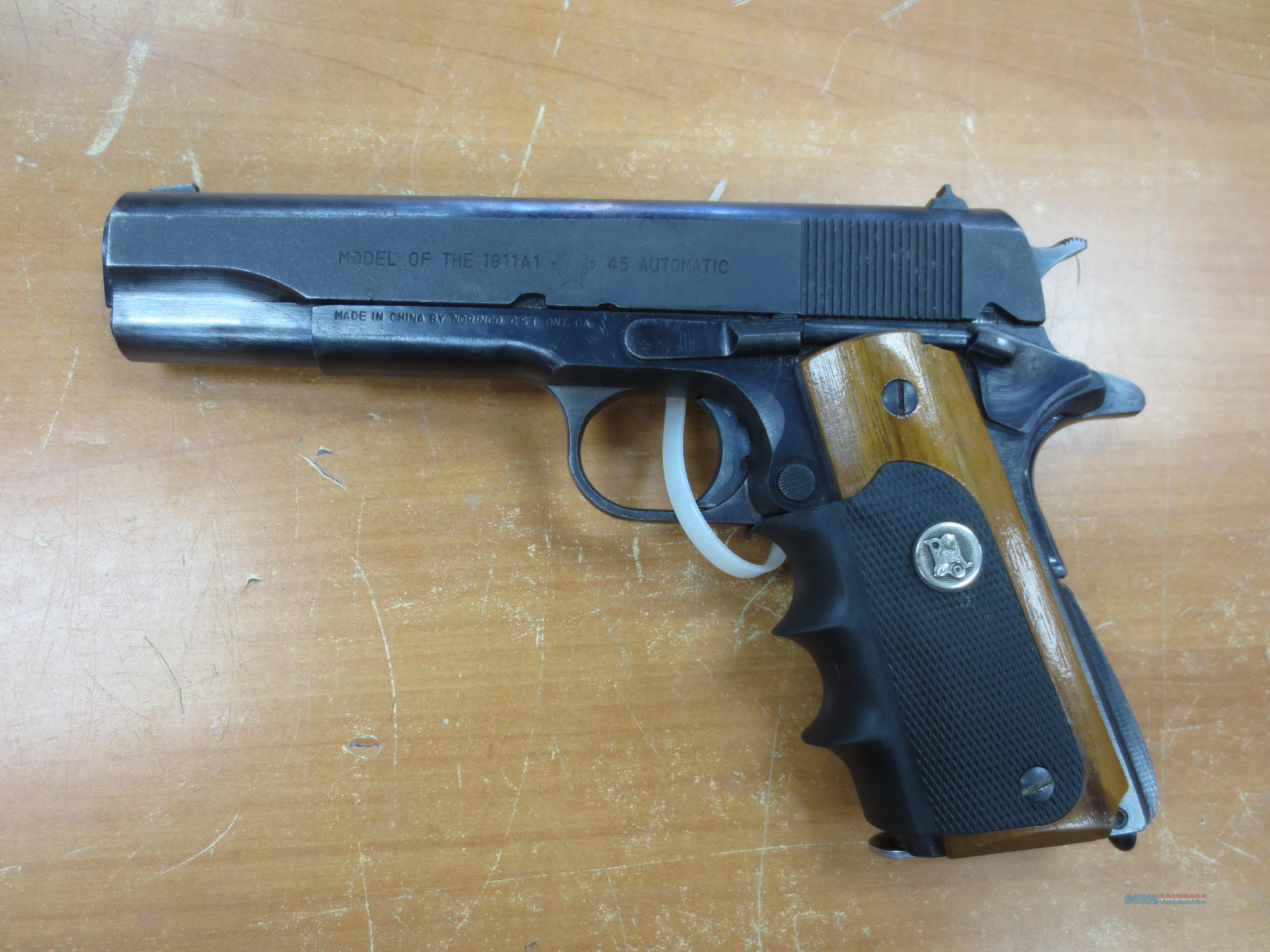 Norinco model 1911A1  .45 acp  Guns > Pistols > Norinco Pistols