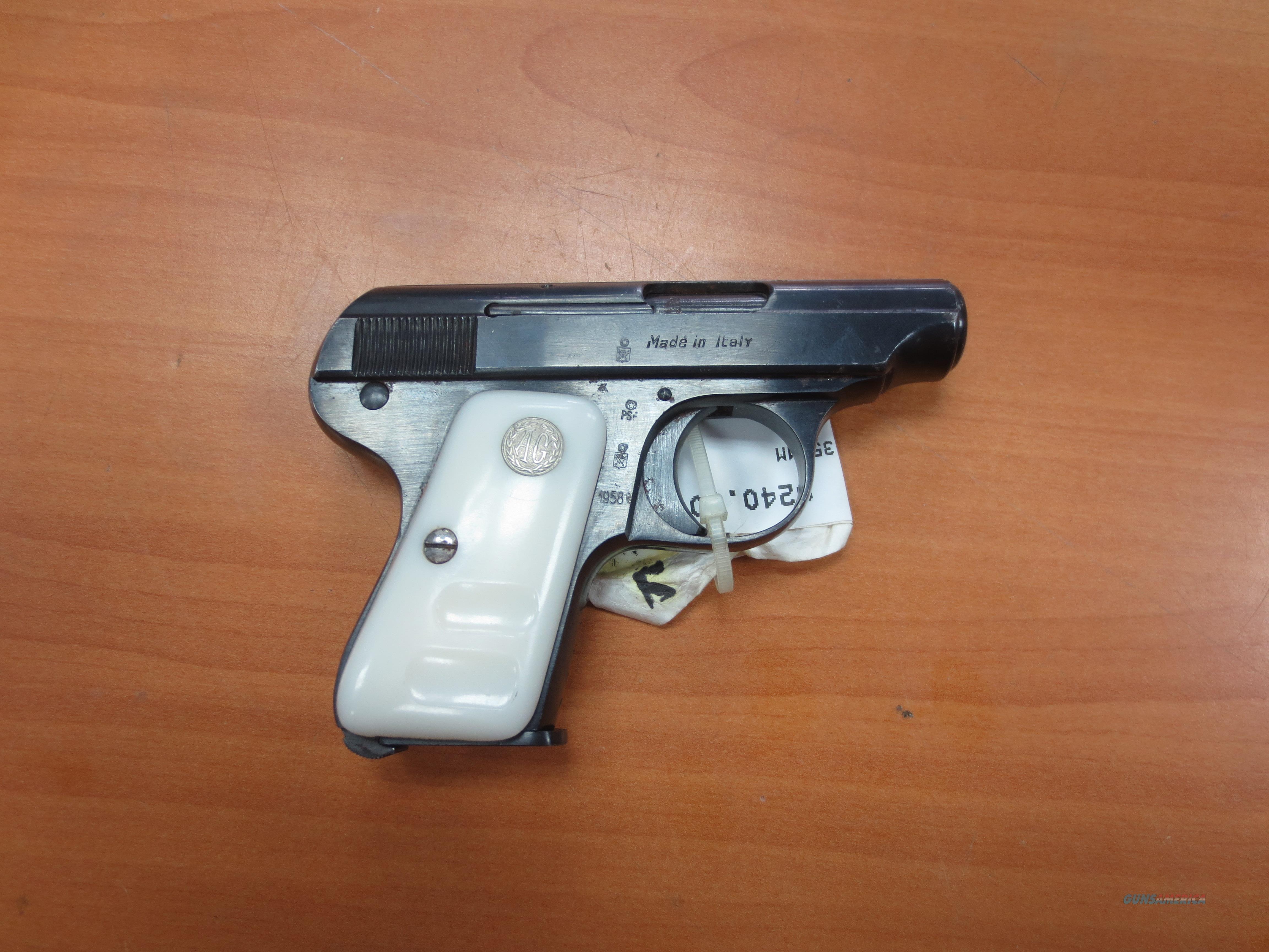 "Armi-Galesi model Brescia 25acp (6.35mm)  pistol 2.25"" barrell  Guns > Pistols > A Misc Pistols"
