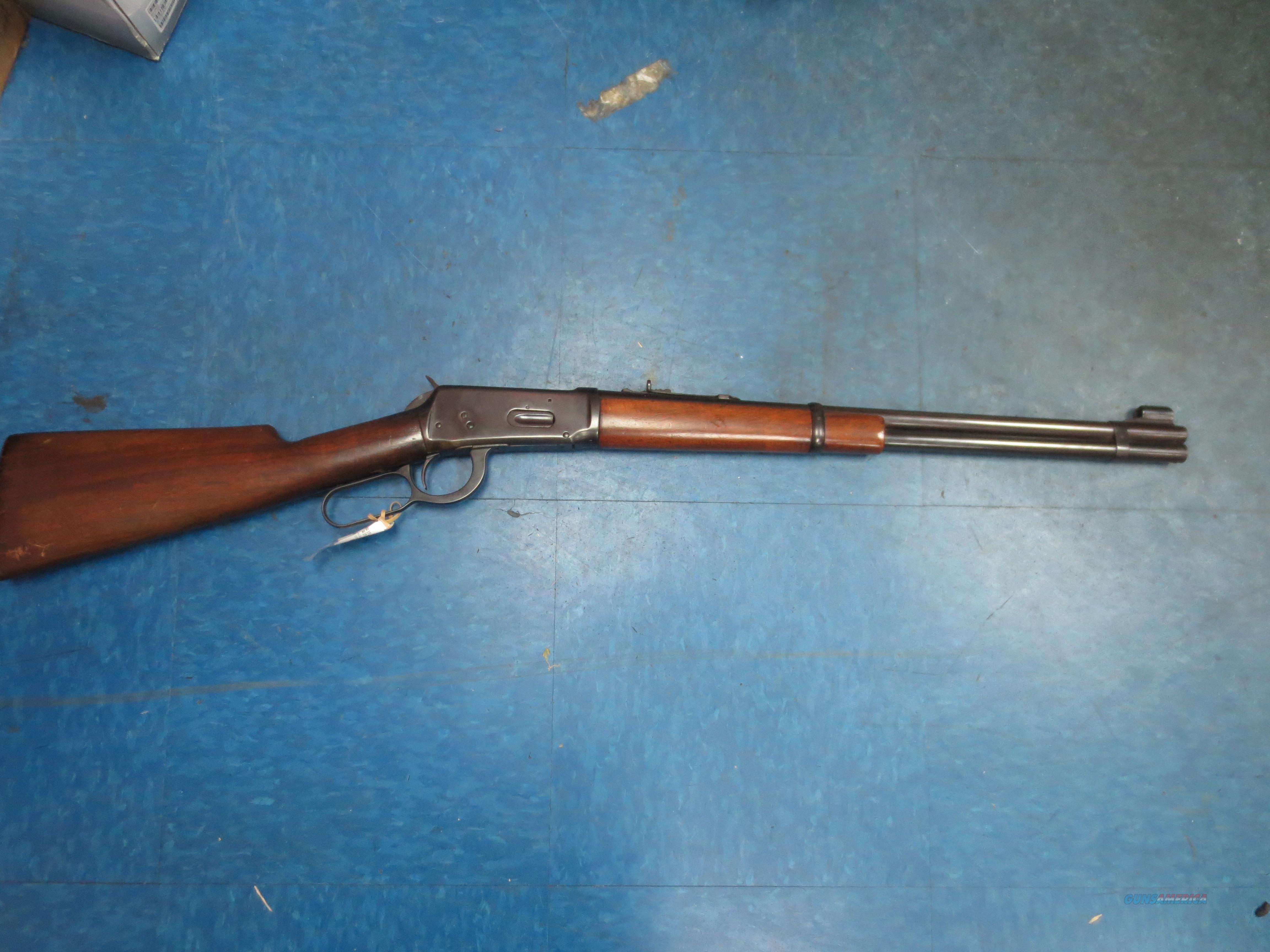 "Winchester mod# 94 (vintage 1948) .30 WCF 20"" barrel  Guns > Rifles > Winchester Rifles - Modern Lever > Model 94 > Pre-64"