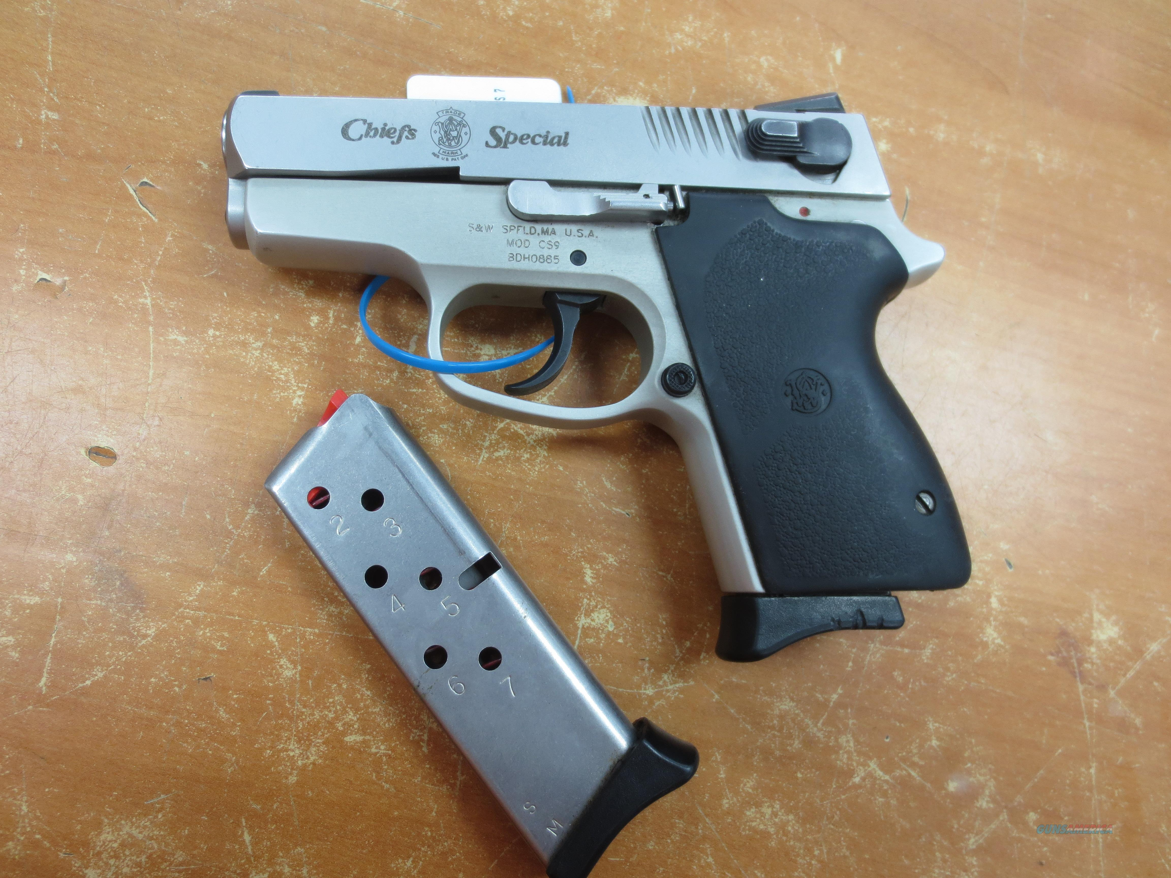 "S&W model CS9 ""Chief's Special"" 9mm   Guns > Pistols > Smith & Wesson Pistols - Autos > Alloy Frame"