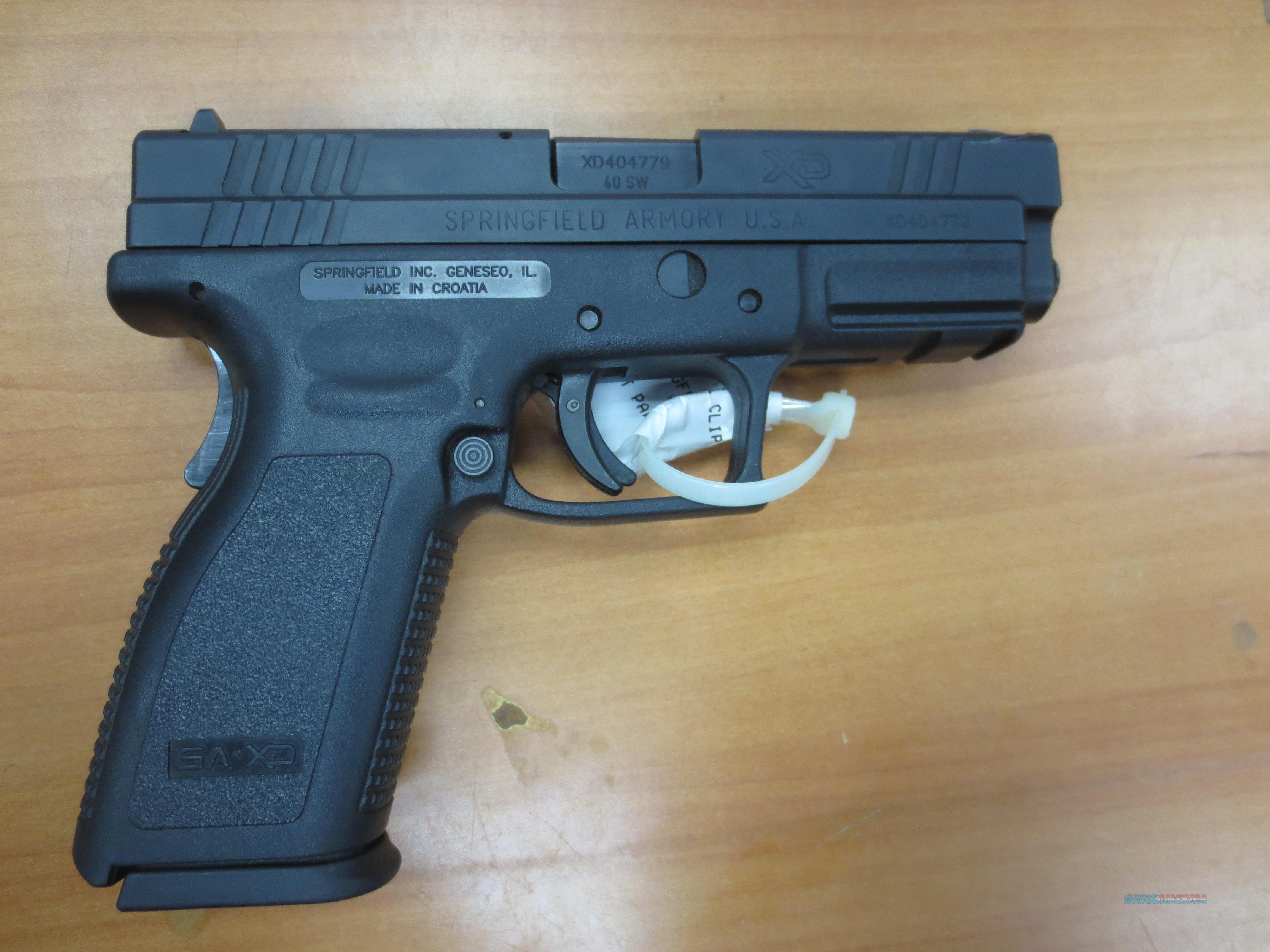 Springfield Armory XD-40 clean with 1- 10rnd mag  Guns > Pistols > Springfield Armory Pistols > XD (eXtreme Duty)
