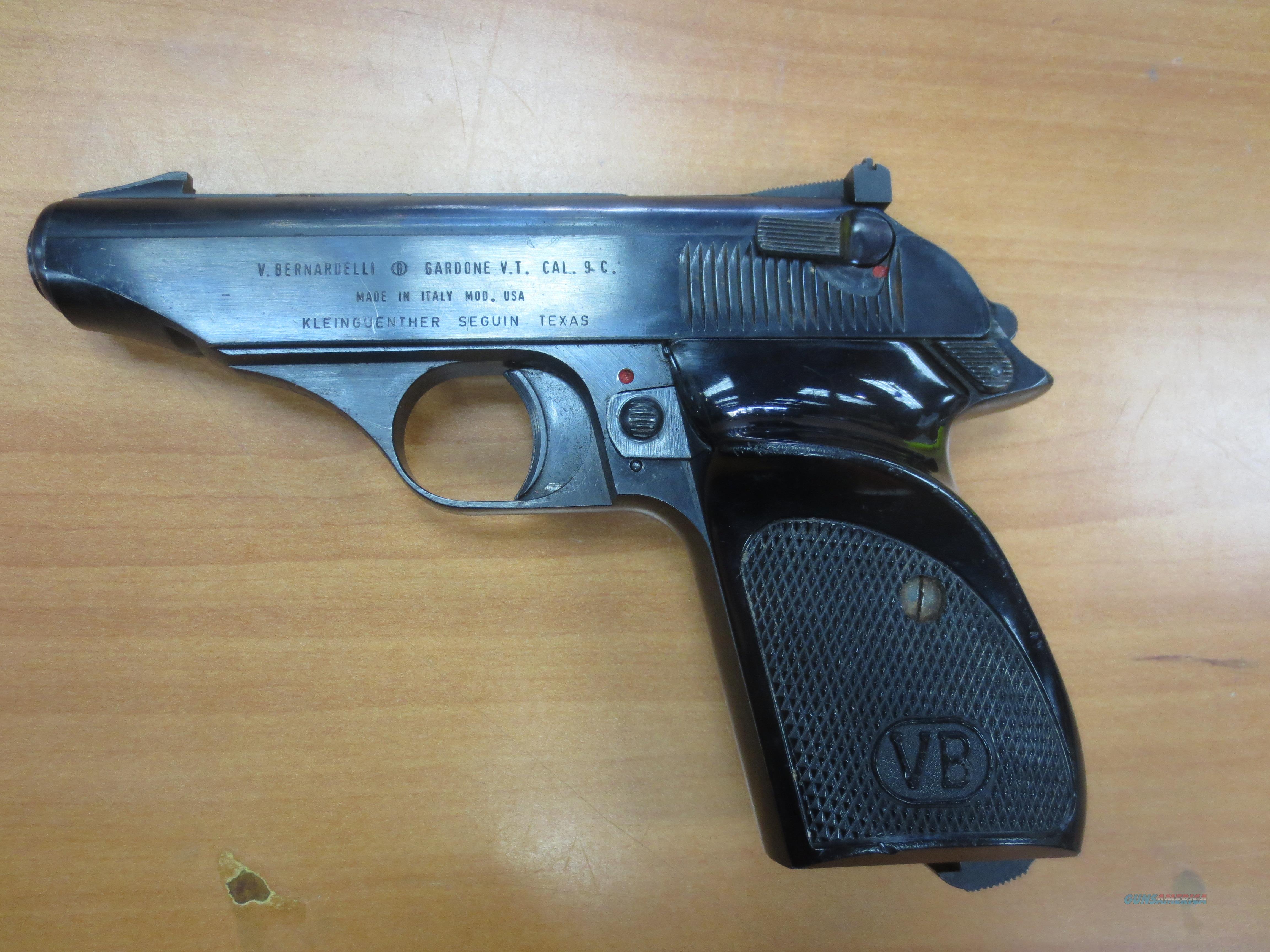 V.Bernardelli mod# USA .380 cal pistol (Made in Italy)  Guns > Pistols > B Misc Pistols
