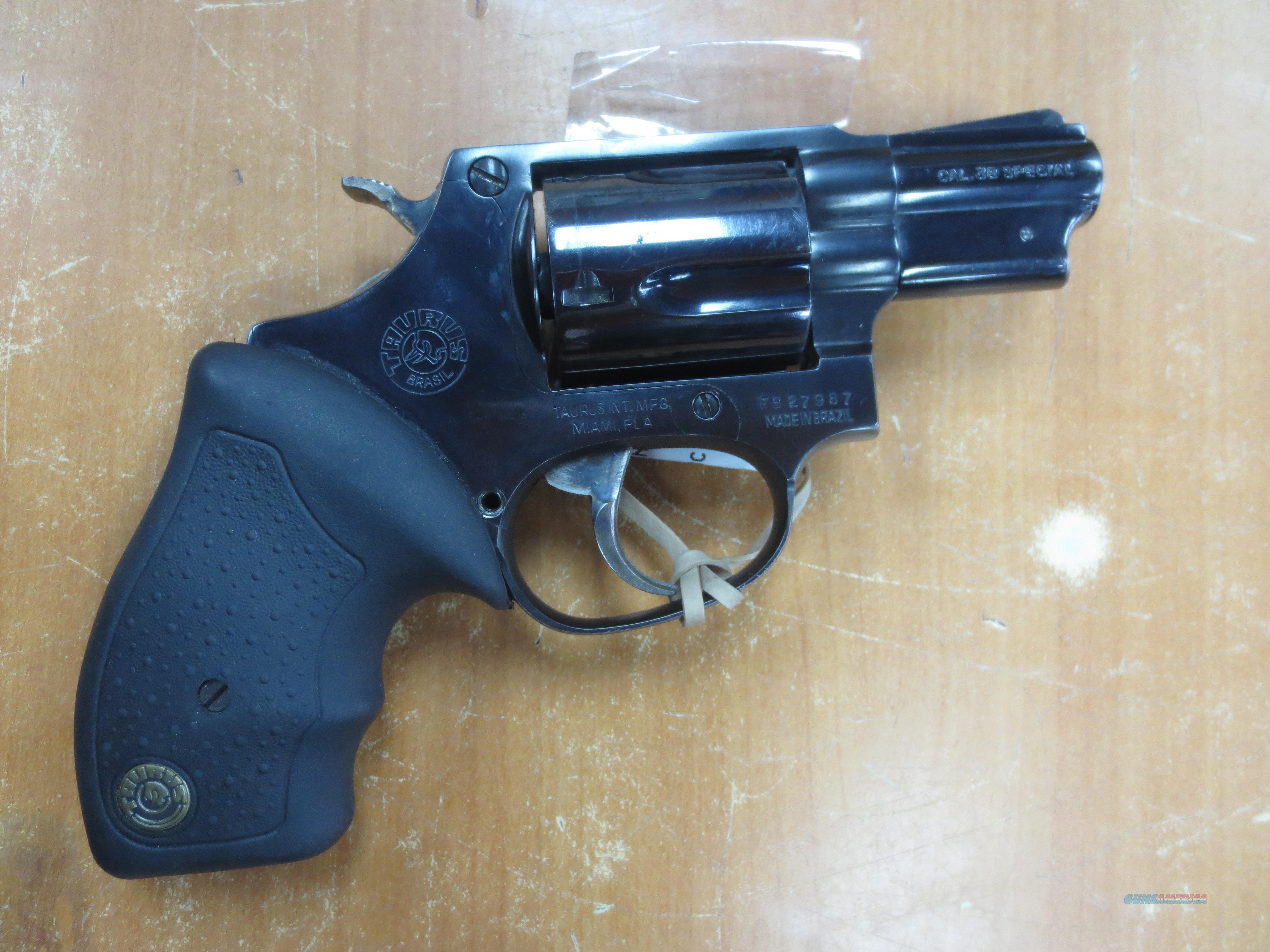 Taurus model 85 Snub Nose 5 Shot .38 Special CA ok!  Guns > Pistols > Taurus Pistols > Revolvers