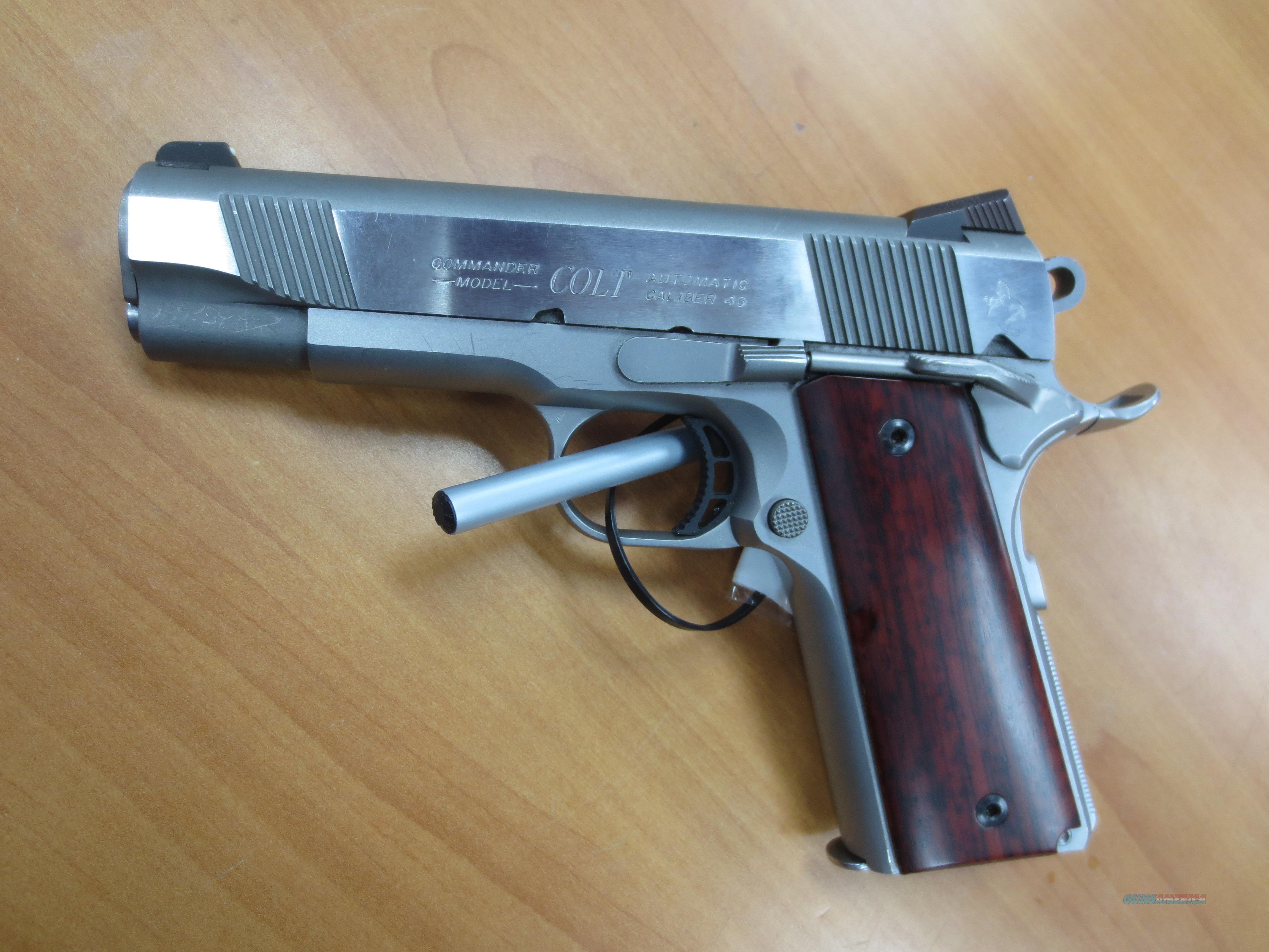 Colt Combat Commander .45   Guns > Pistols > Colt Automatic Pistols (1911 & Var)
