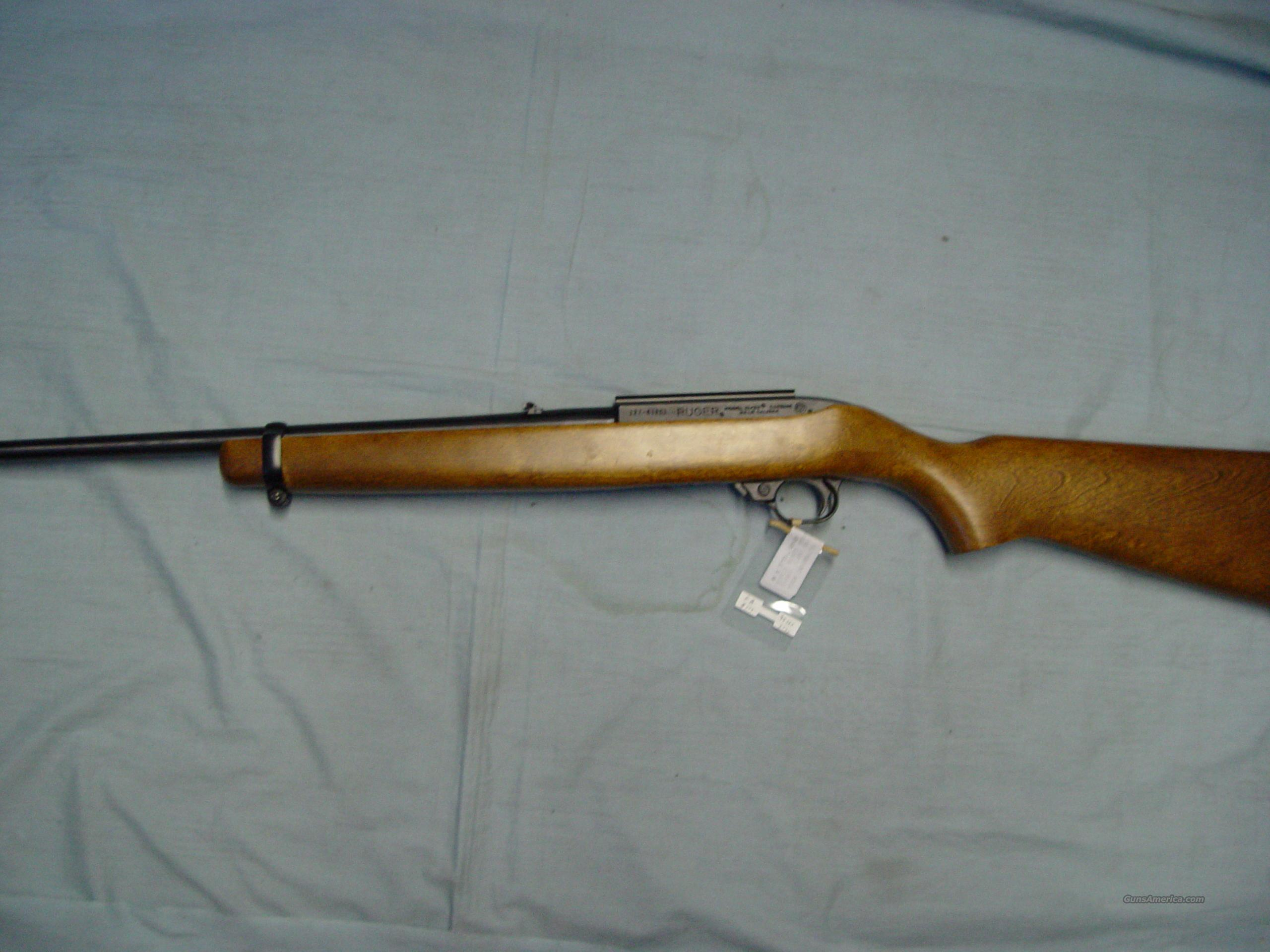 Ruger mod# 10/22 carbine rifle w/hardwood stock   Guns > Rifles > Ruger Rifles > 10-22