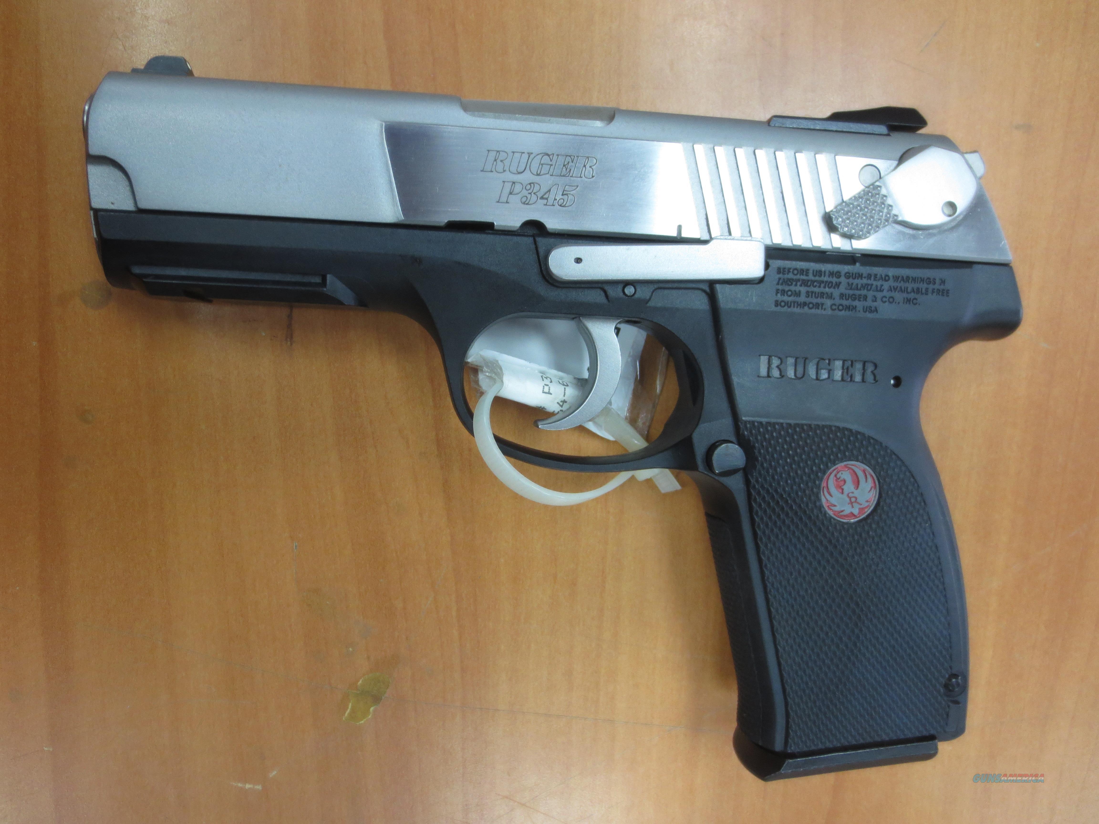 Ruger mod# P345 .45 acp cal semi-auto pistol   Guns > Pistols > Ruger Semi-Auto Pistols > P-Series