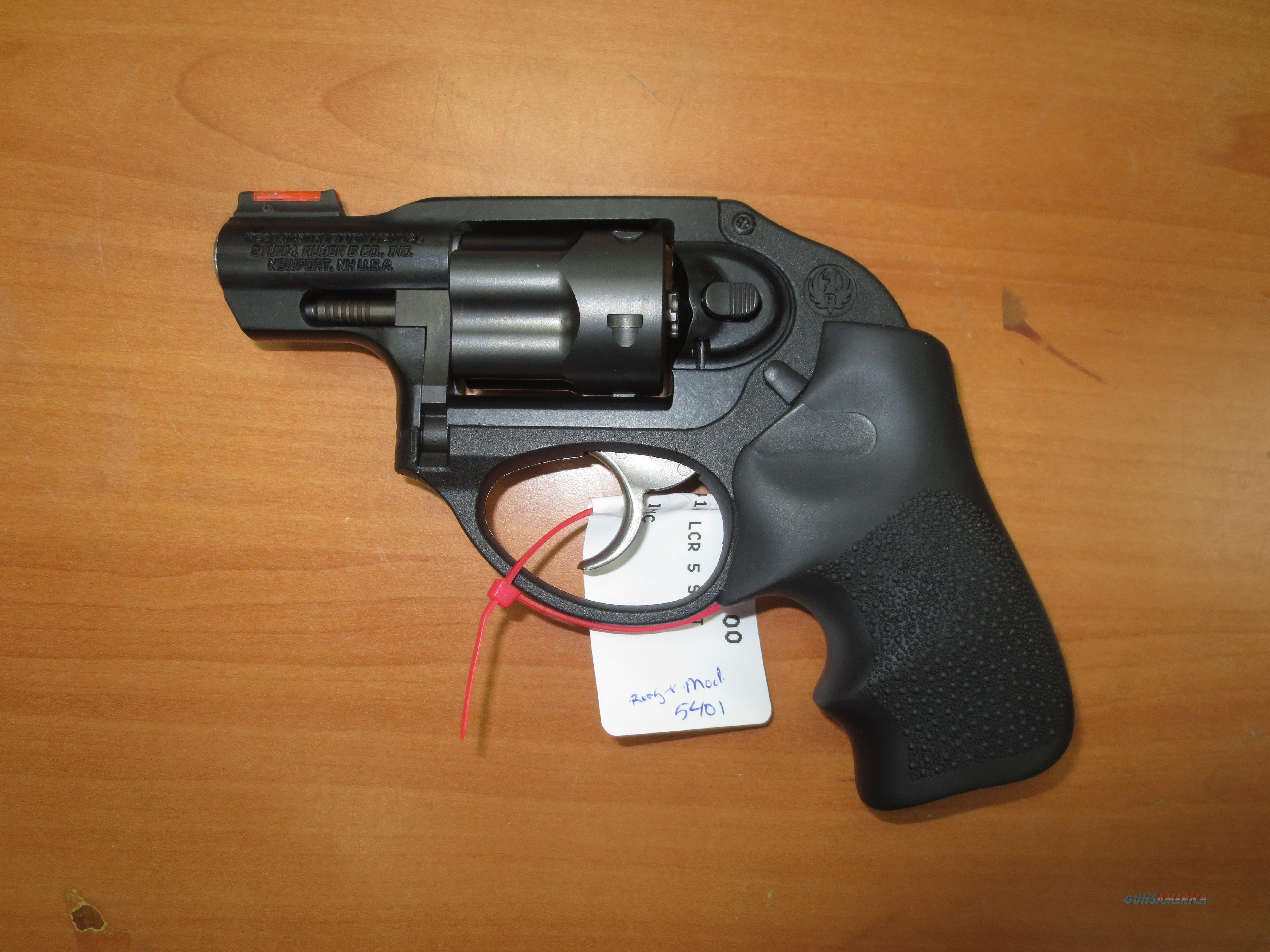 Ruger LCR .38 Spl +P Double action only  Guns > Pistols > Ruger Double Action Revolver > LCR