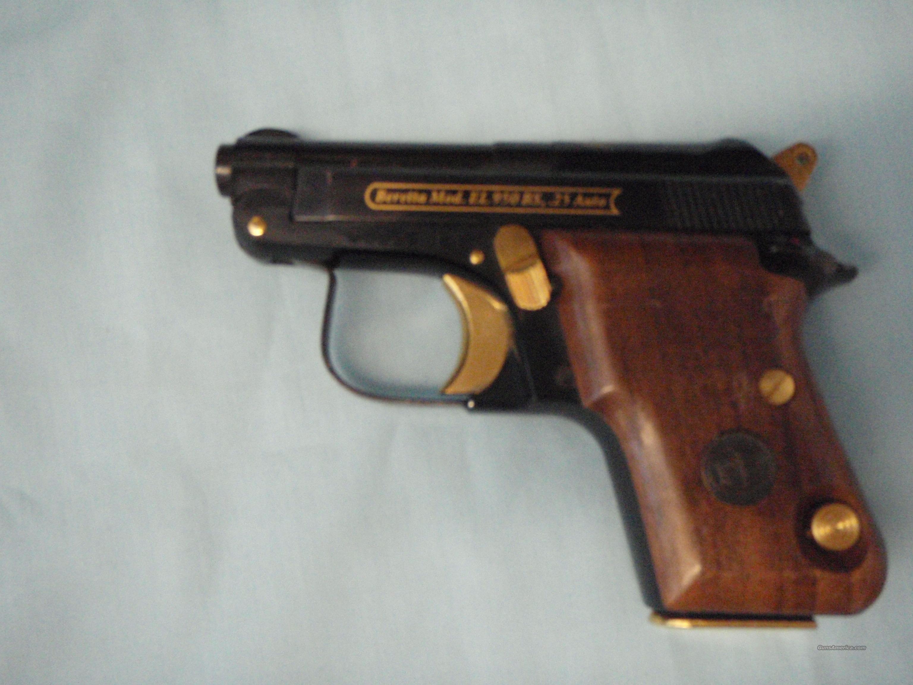 Beretta model 950 bs 25 cal manual