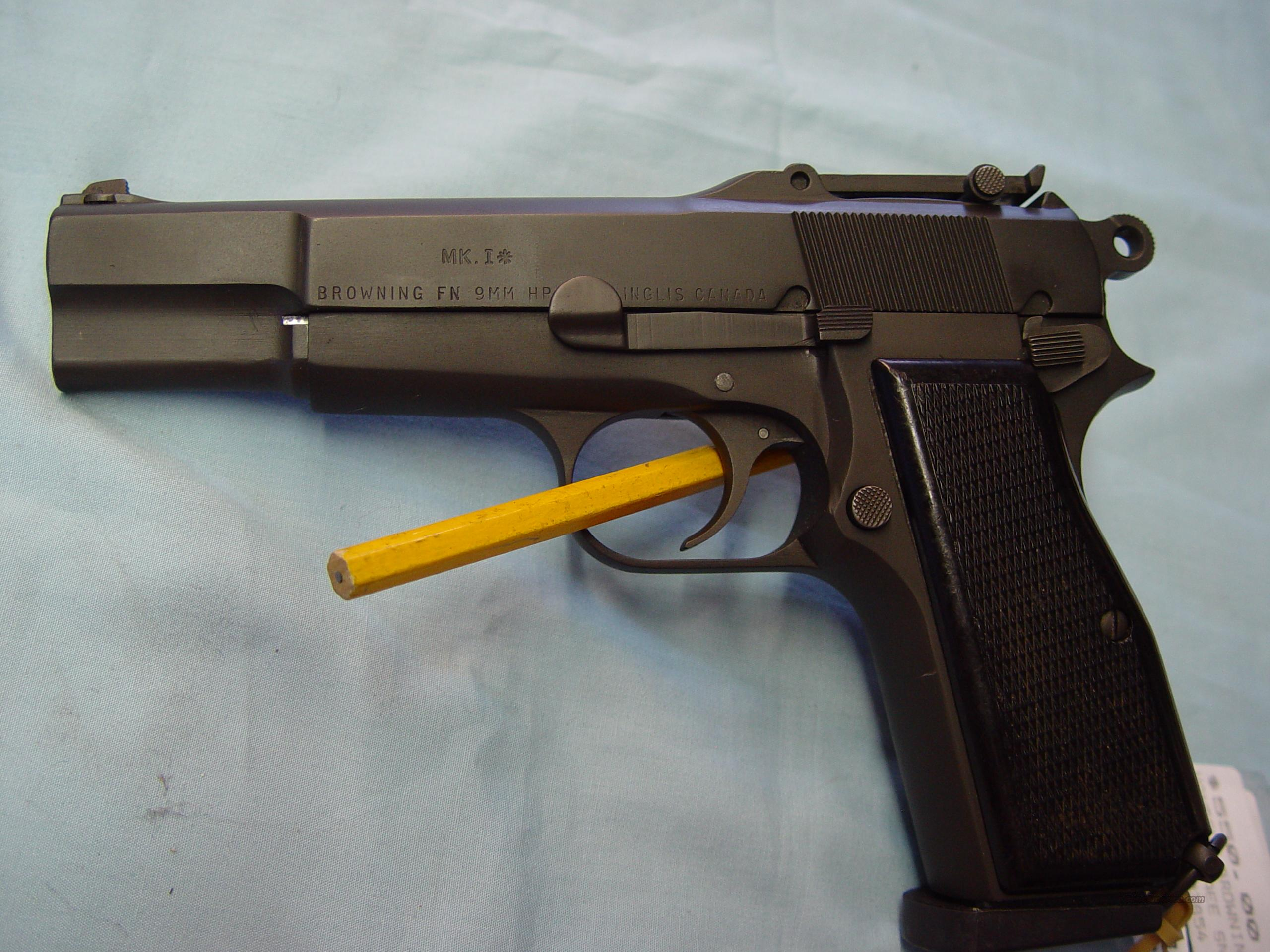 Browning Hi Power (canada inglis) ('43-'45)  Guns > Pistols > Browning Pistols > Hi Power