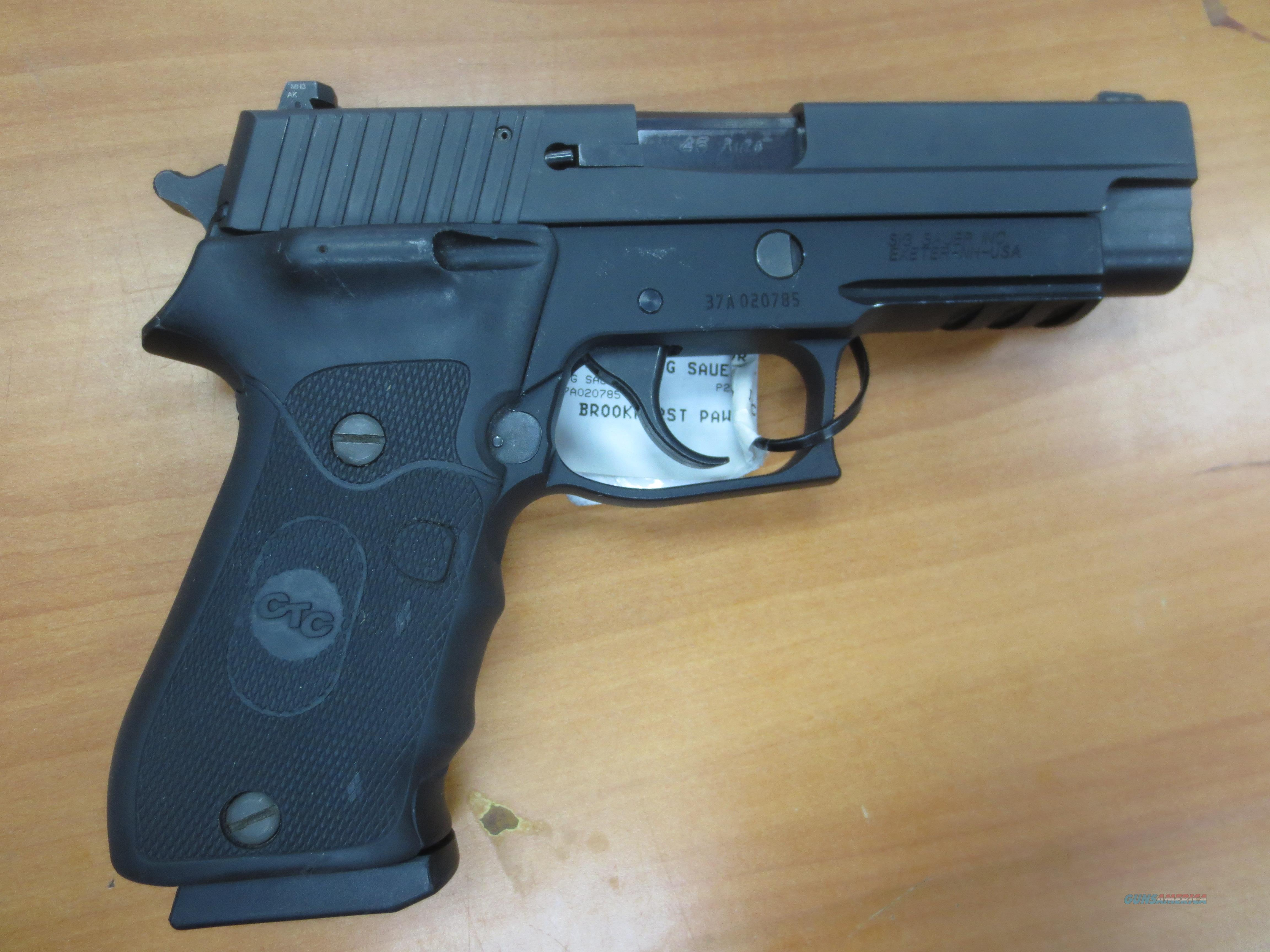 Sig Sauer P220 .45 Auto with CTC Laser grip  Guns > Pistols > Sig - Sauer/Sigarms Pistols > P220