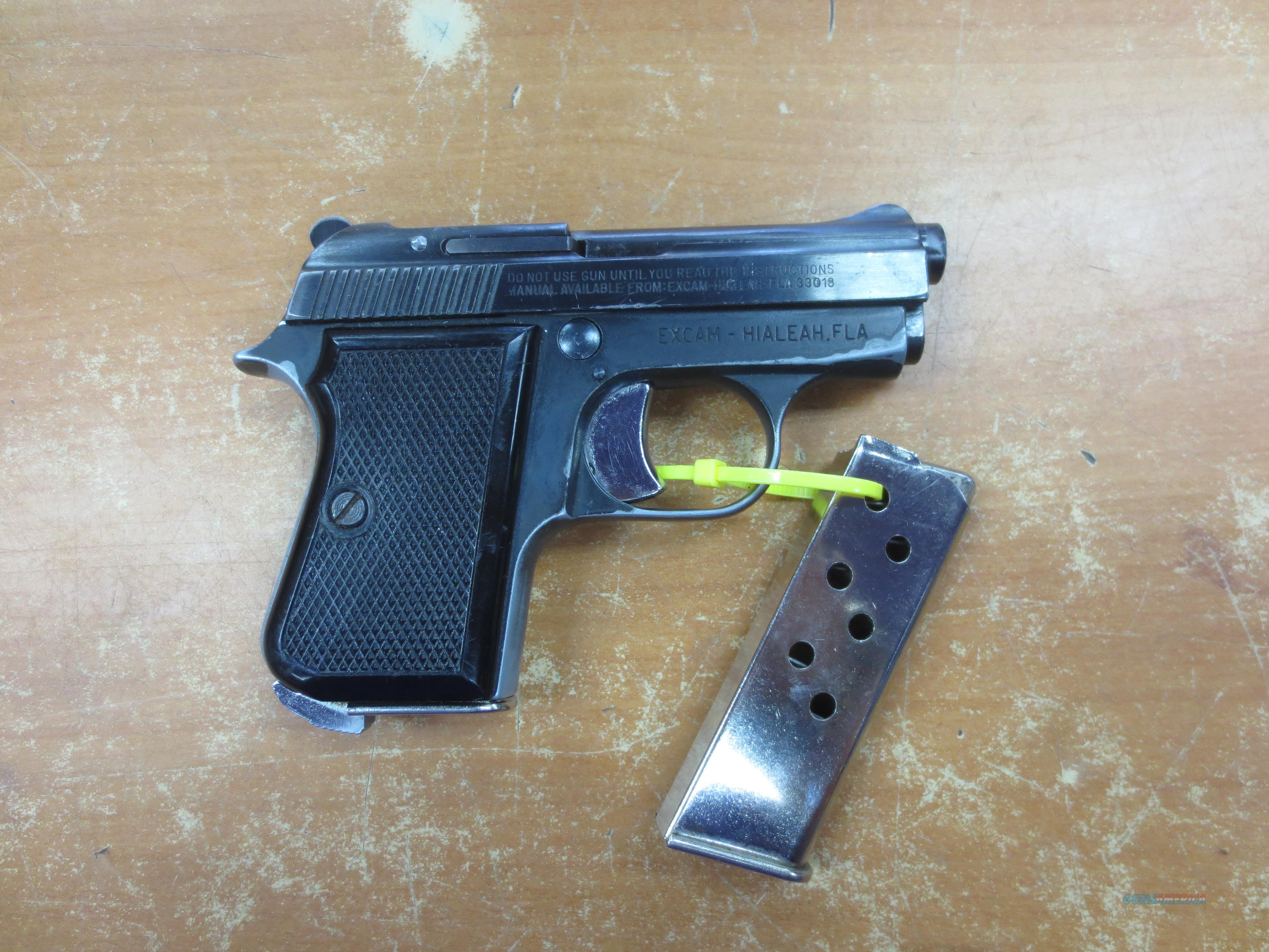 Armi Tanfoglio Giuseppe model GT27 Pocket Pistol .25 cal  Guns > Pistols > A Misc Pistols