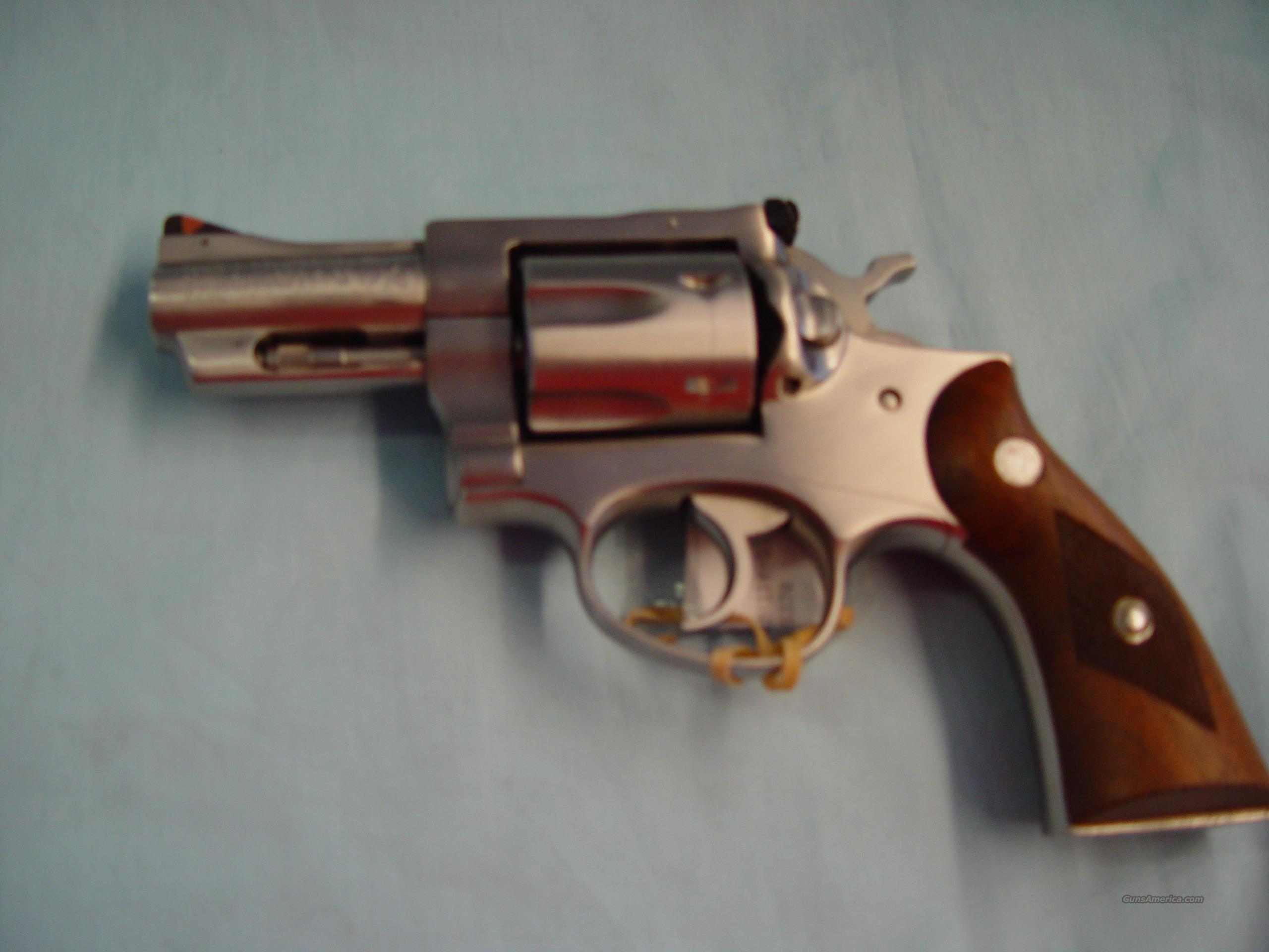 "Ruger Mod#Security-Six .357 mag 2.75"" stainless  Guns > Pistols > Ruger Double Action Revolver > Security Six Type"