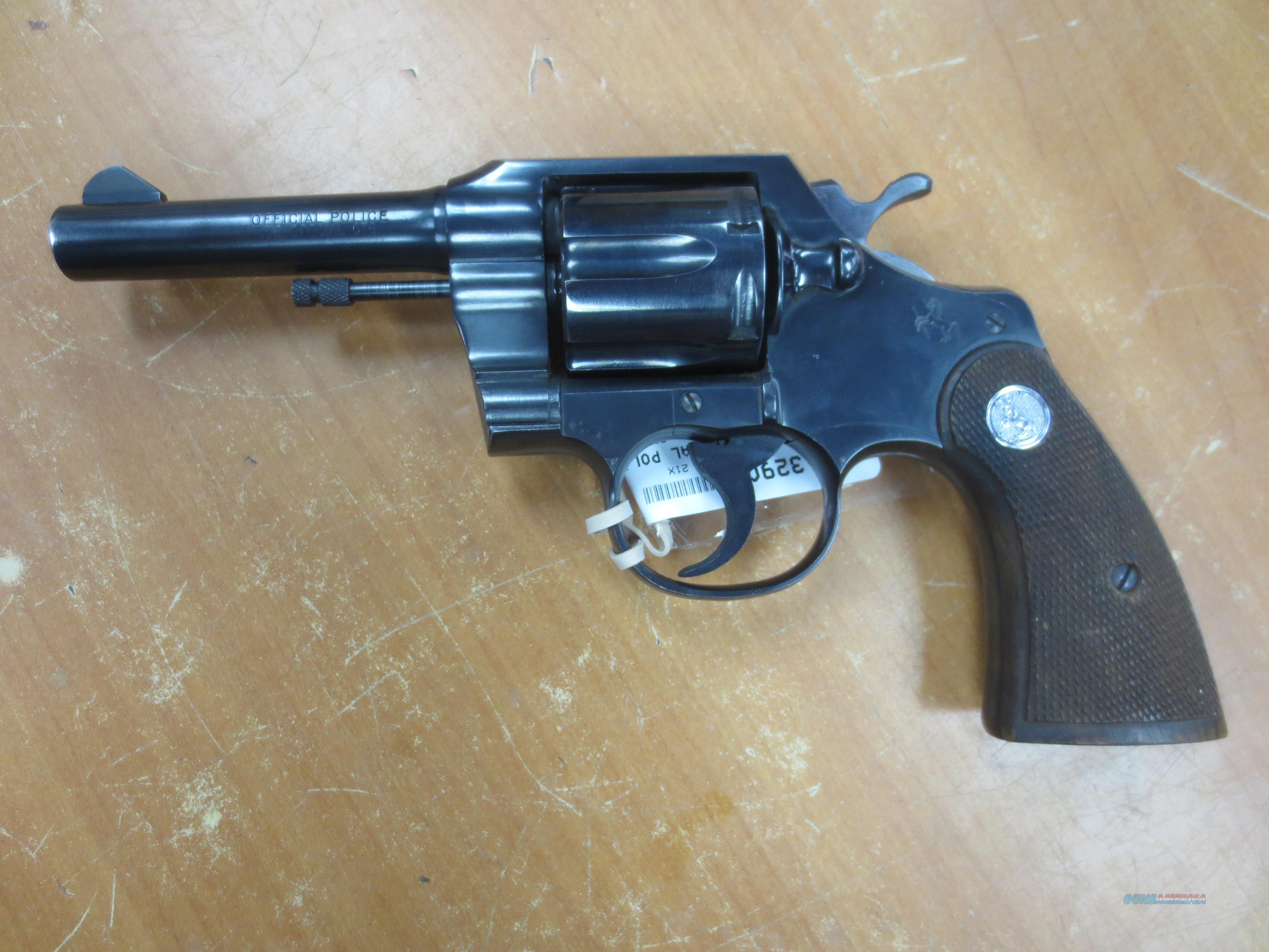 Colt Official Police .38 special 6 shot   Guns > Pistols > Colt Double Action Revolvers- Modern
