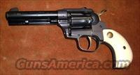 High Standard, Double-Nine Natchez, revolver, .22  LR , nine shot, SA or DA  Guns > Pistols > High Standard Pistols