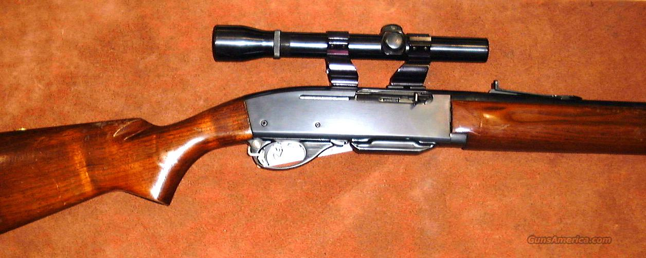 Remington, Model 740 Woodsmaster rifle, semi-auto, .30-06  Guns > Rifles > Remington Rifles - Modern > Other