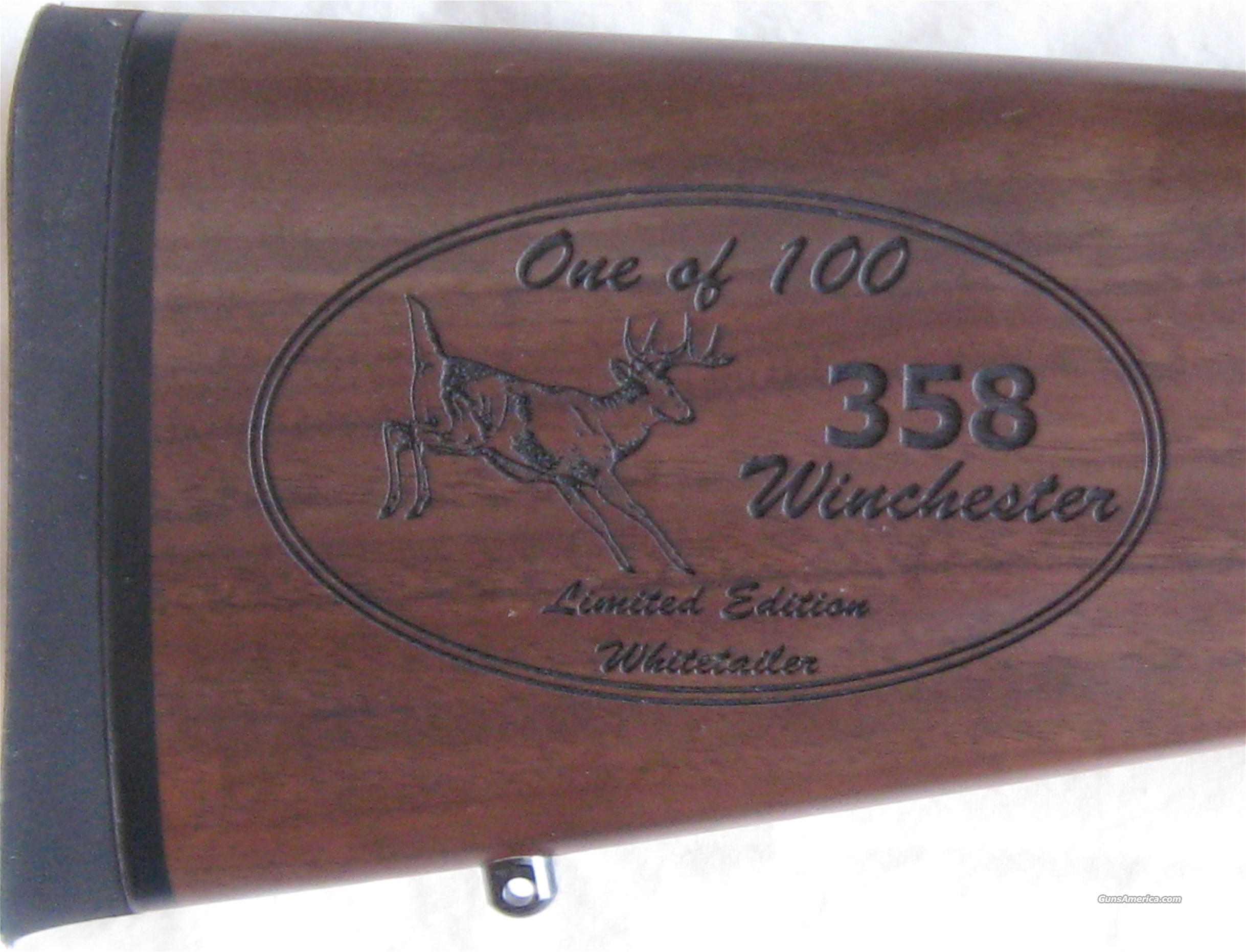 Browning A-Bolt II Featherlite .358 Win 1 of 100  Guns > Rifles > Browning Rifles > Bolt Action > Hunting > Blue