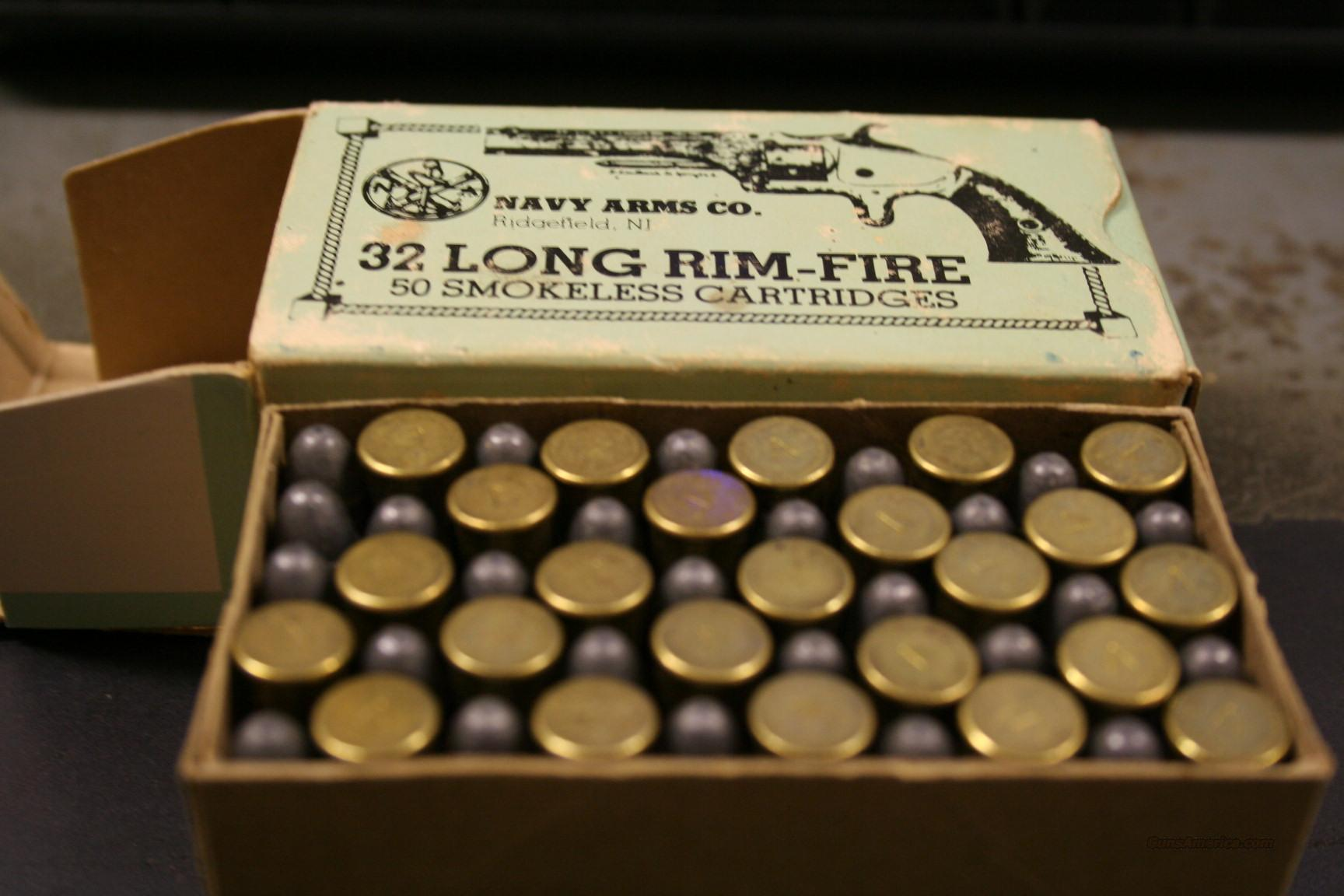 32 RIMFIRE LONG  Non-Guns > Ammunition
