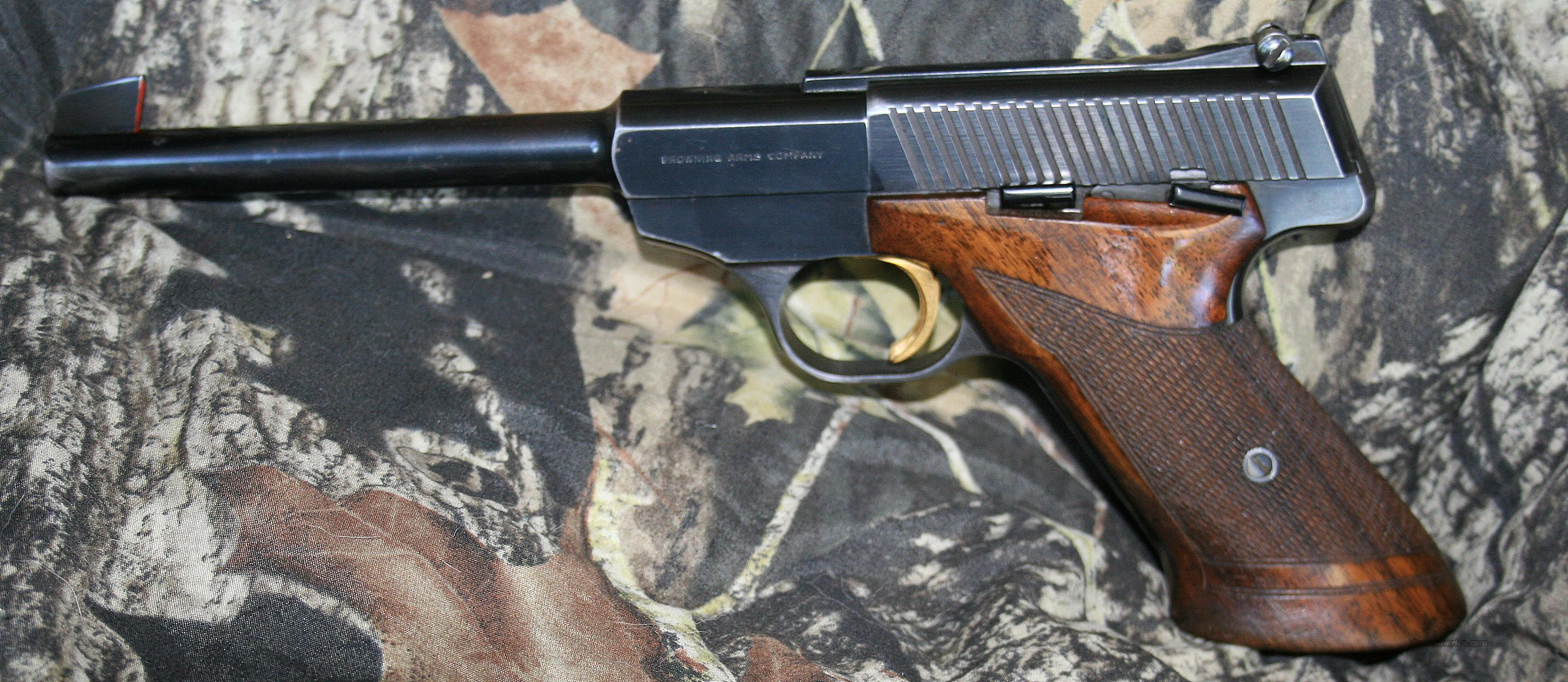 Browning Challenger Made in Belgium .22LR Semi-Automatic Pistol   Guns > Pistols > Browning Pistols > Other Autos