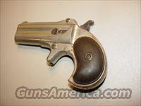 Remington Double Barrel Derringer  Guns > Pistols > Remington Derringers