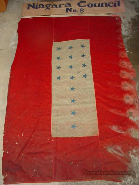 Large Civil War or WW I Unique Flag & Banner  Non-Guns > Military