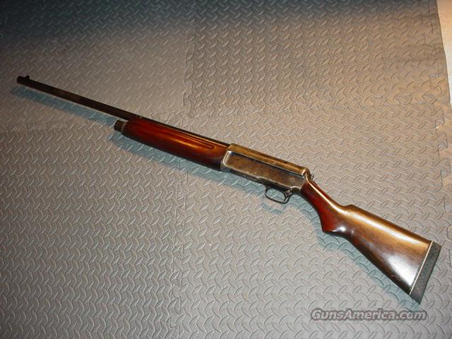 WINCHESTER MODEL 1911 S.L. SEMI-AUTO-12 GA SHOTGUN  Guns > Shotguns > Winchester Shotguns - Modern > Pump Action > Hunting