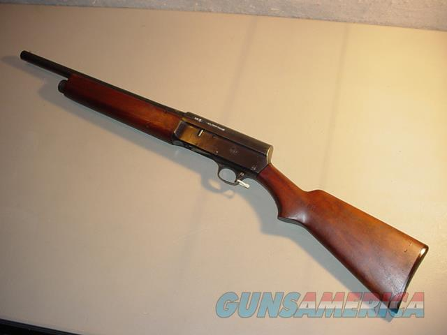 WW I Remington Military M-11 12Ga SemiAuto Shotgun     Guns > Shotguns > Military Misc. Shotguns US