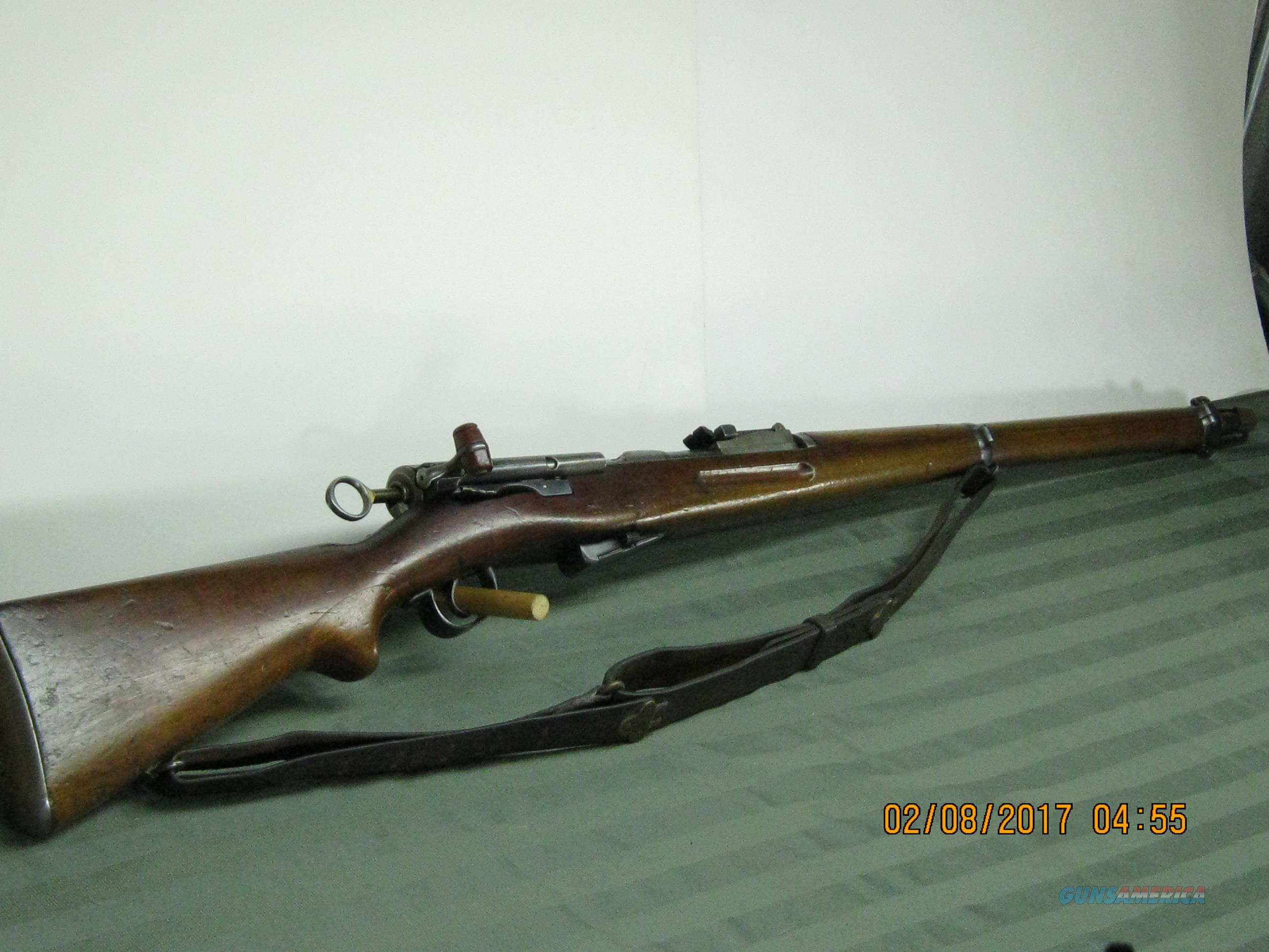 Schmidt Rubin Swiss Army pull bolt action  Guns > Rifles > Antique (Pre-1899) Rifles - Ctg. Misc.