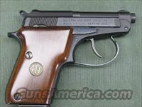 Beretta Model 21A .22 LR w/case & Box  Beretta Pistols > Small Caliber Tip Out