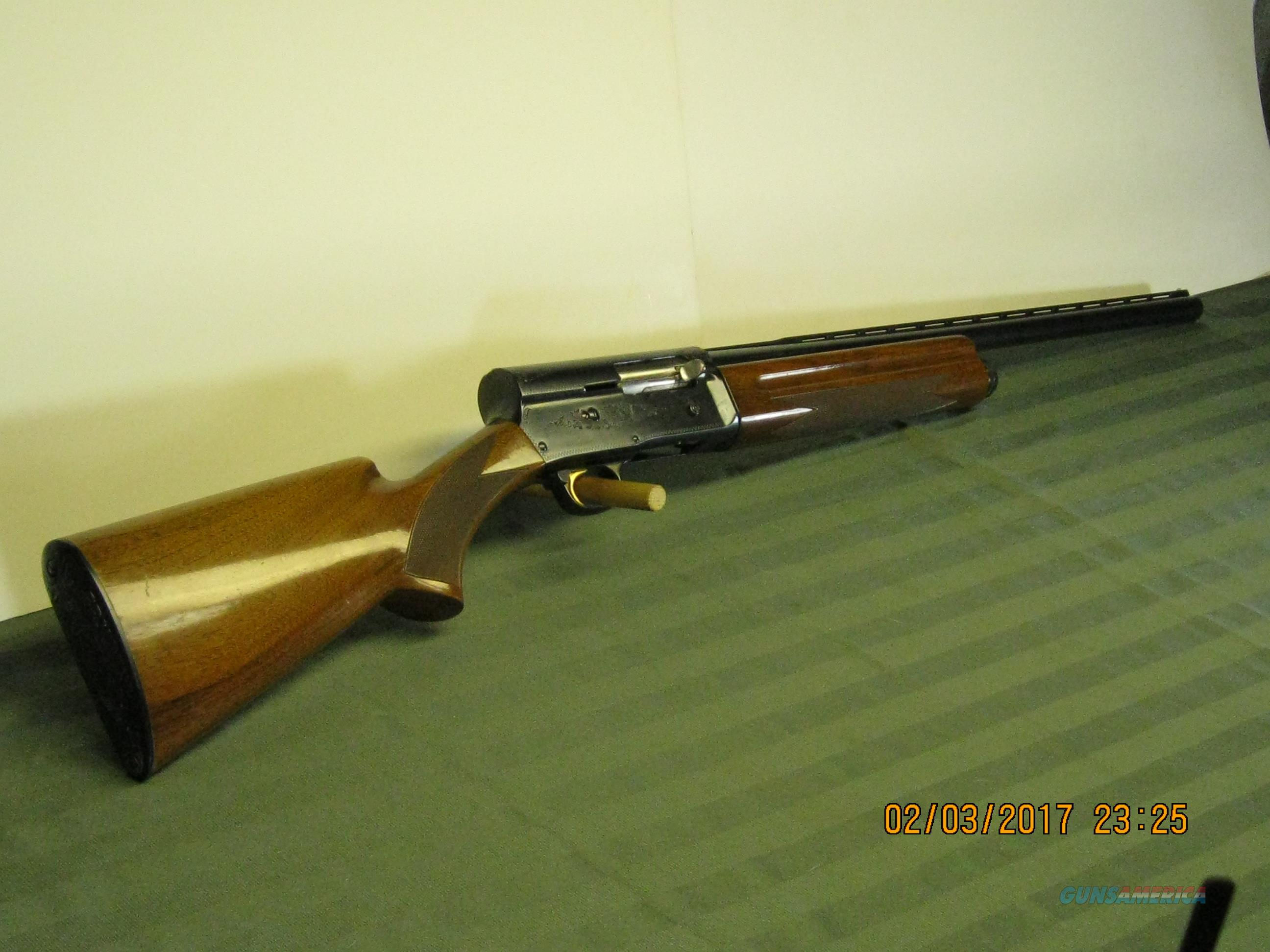 Browning A-5 Light 12 ga. Belgium VR barrel  Guns > Shotguns > Browning Shotguns > Autoloaders > Hunting