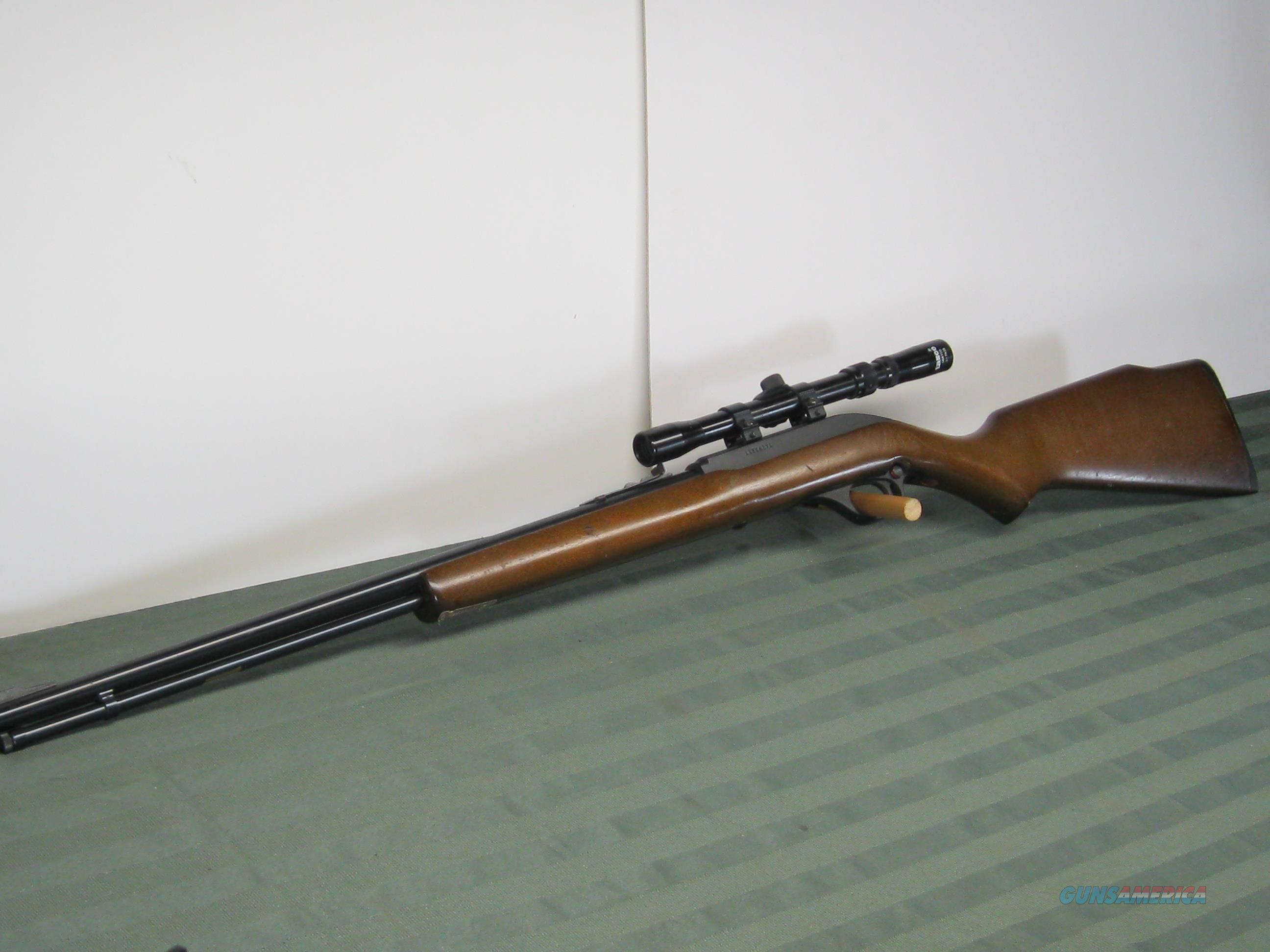 Marlin 60 22LR Auto  Guns > Rifles > Marlin Rifles > Modern > Semi-auto