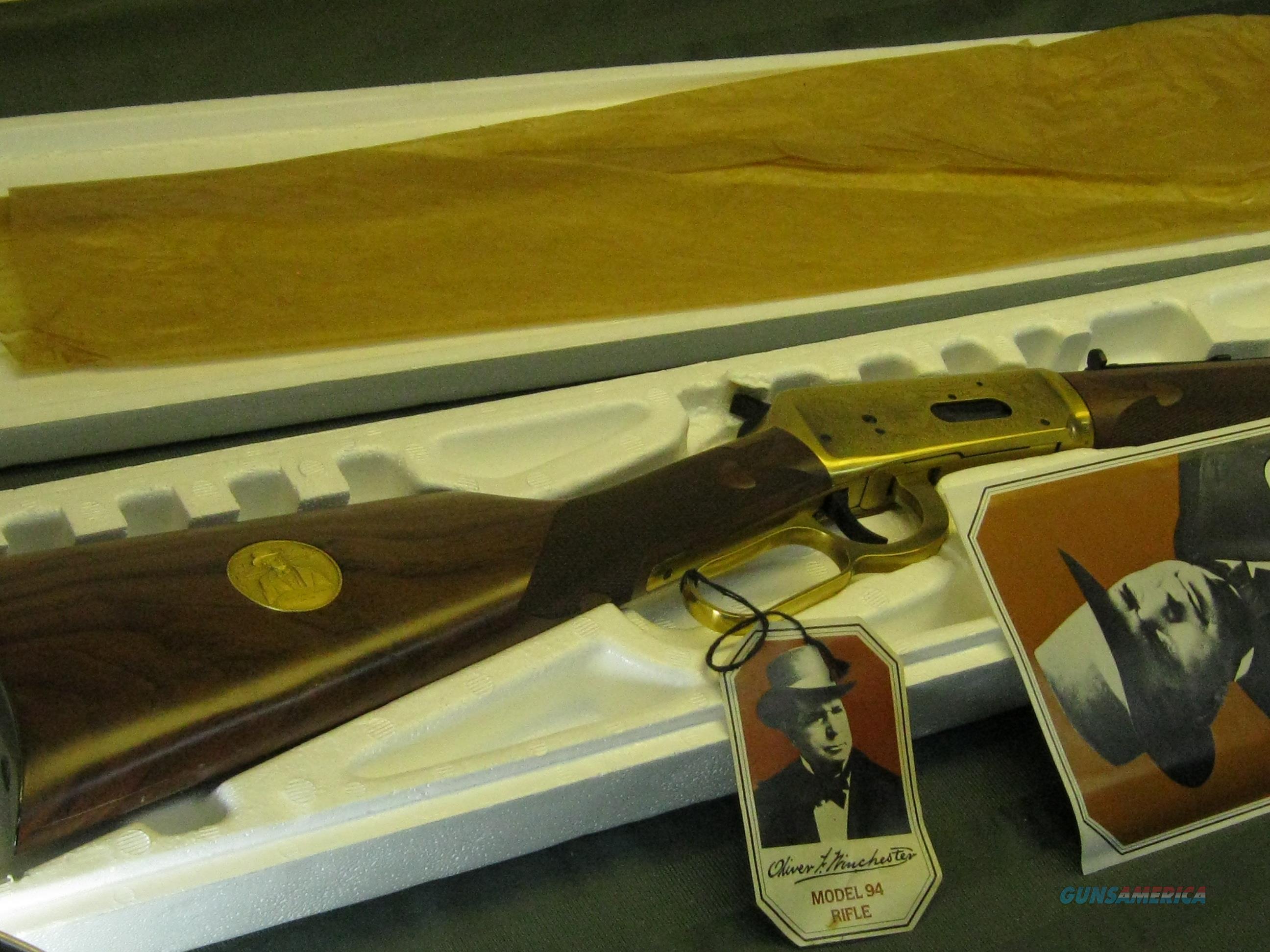 Oliver F. Winchester Winchester Commemorative 1980 NIB   Guns > Rifles > Winchester Rifle Commemoratives