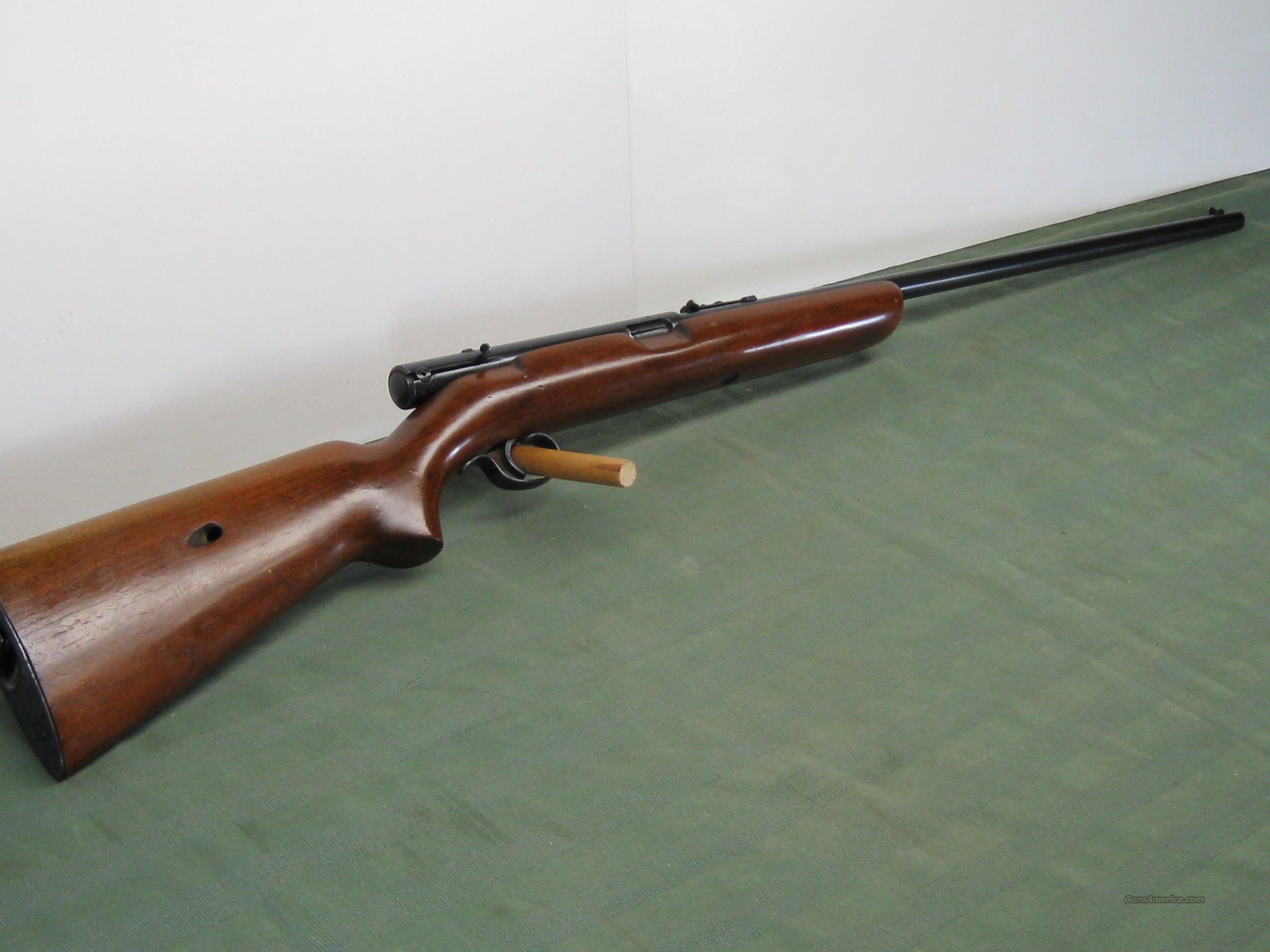 Winchester model 74 Semi-Auto .22LR  Guns > Rifles > Winchester Rifles - Modern Bolt/Auto/Single > Autoloaders