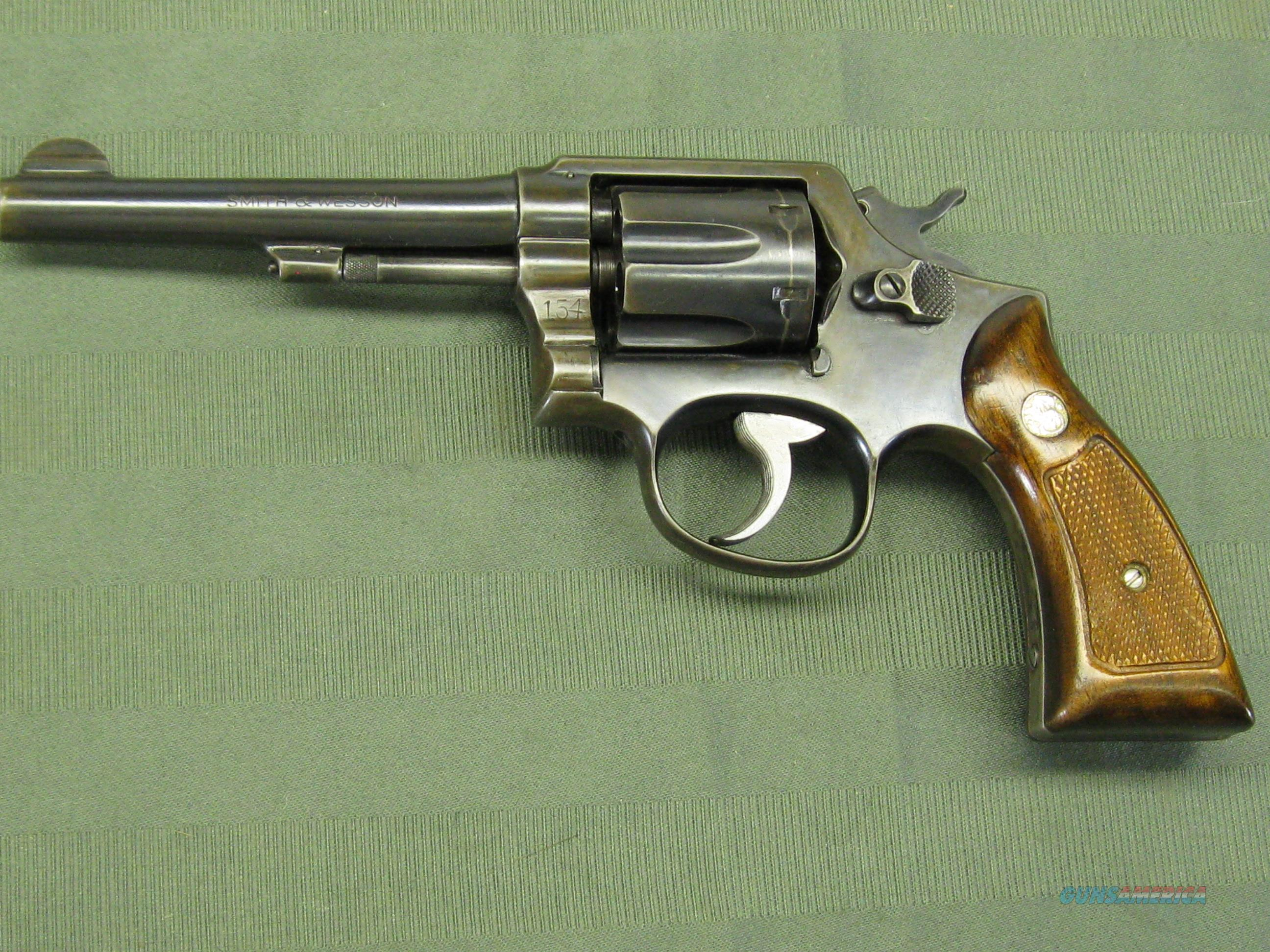 dating smith and wesson model 10 The smith & wesson model 10 the trigger return spring is a flat leaf rather than the coil spring-powered slide used in variations dating from 1905 onwards.