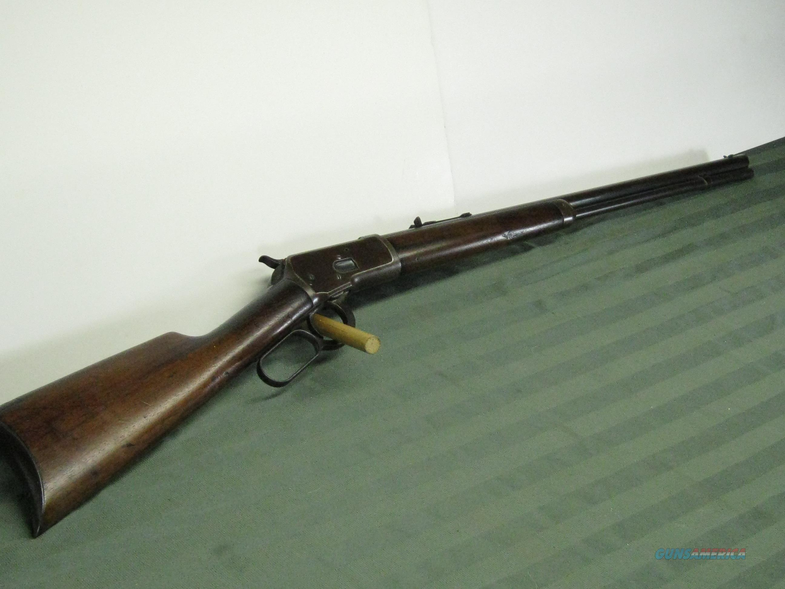 Winchester Model 1892 rifle 32-20 c.1907  Guns > Rifles > Winchester Rifles - Modern Lever > Other Lever > Pre-64
