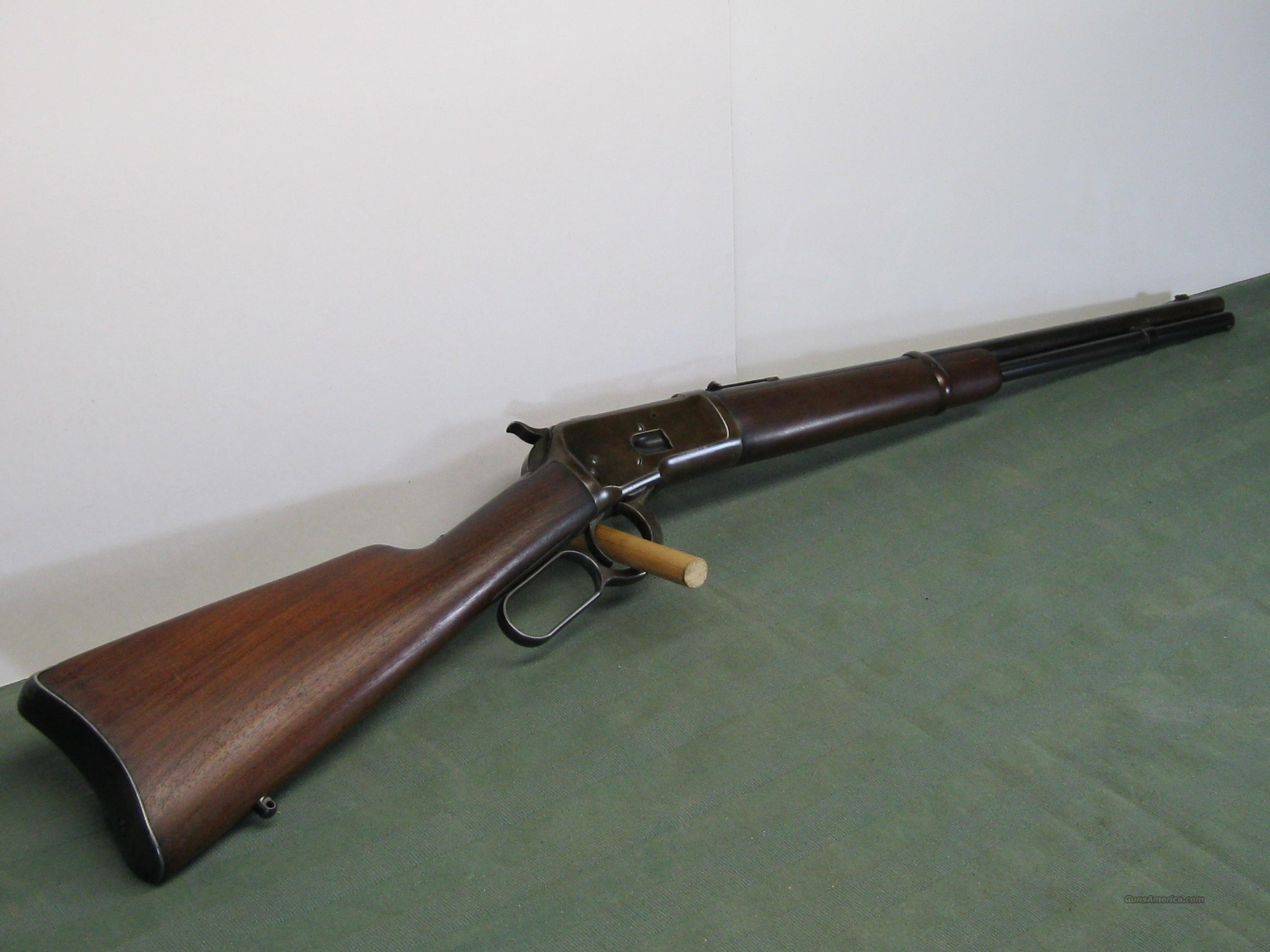 Winchester Model 1892 SRC (1908)  Guns > Rifles > Winchester Rifles - Modern Lever > Other Lever > Pre-64