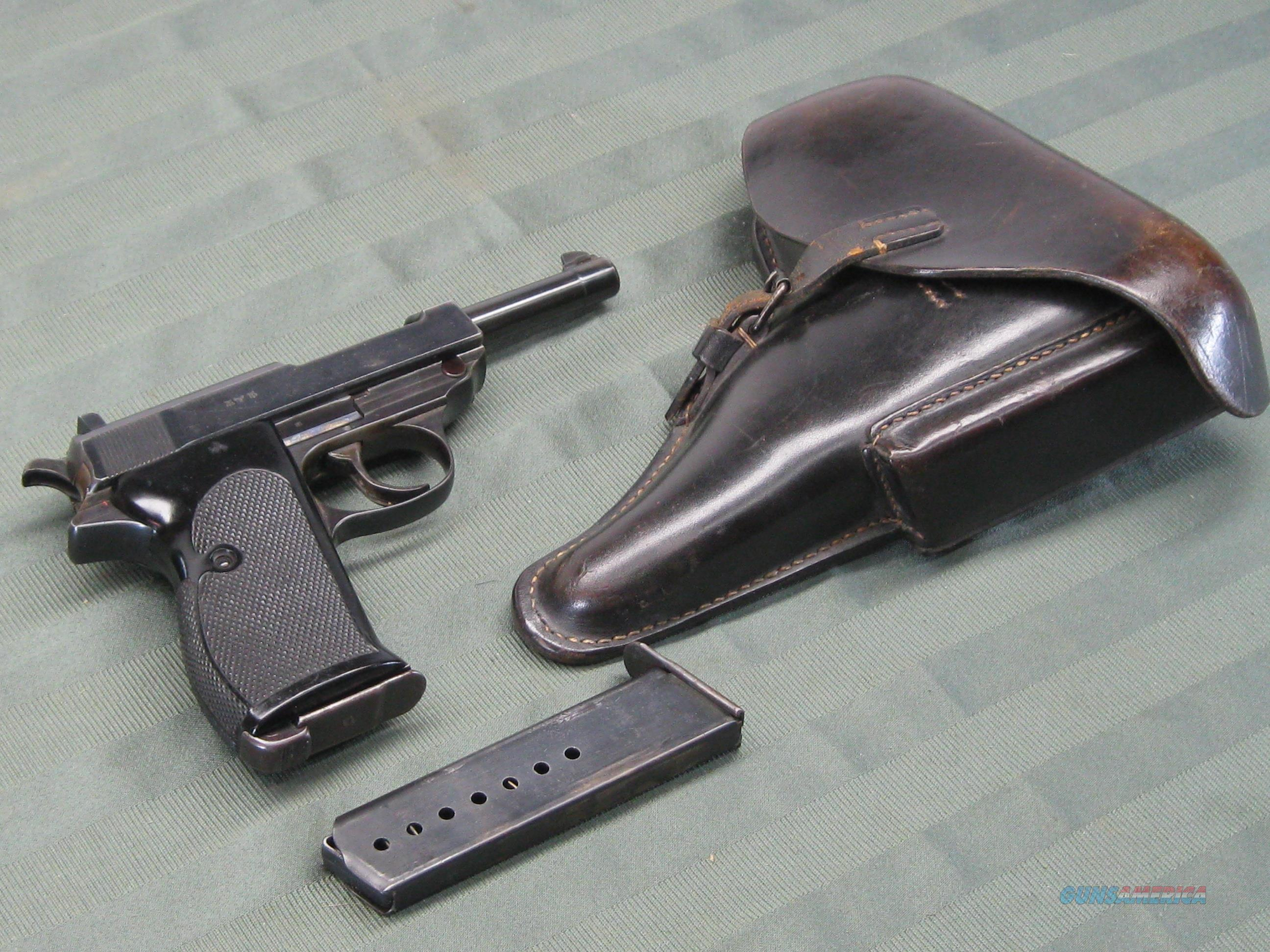 """Walther P-38 early first issue """"0"""" series  Guns > Pistols > Walther Pistols > Pre-1945 > P-38"""