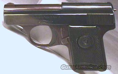 Walther M-9 .25 ACP Pistol / Walther's Patent Banner  Guns > Pistols > Walther Pistols > Pre-1945 > Other