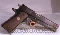 Colt National Match 45 ACP  Guns > Pistols > Colt Automatic Pistols (.25, .32, & .380 cal)