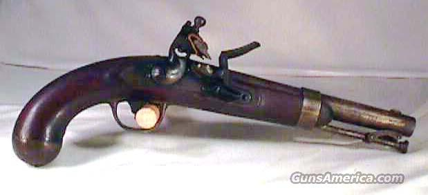 US Model 1836 Flintlock Pistol c. 1841  Guns > Pistols > United States Patent Firearms Revolvers/Pistols