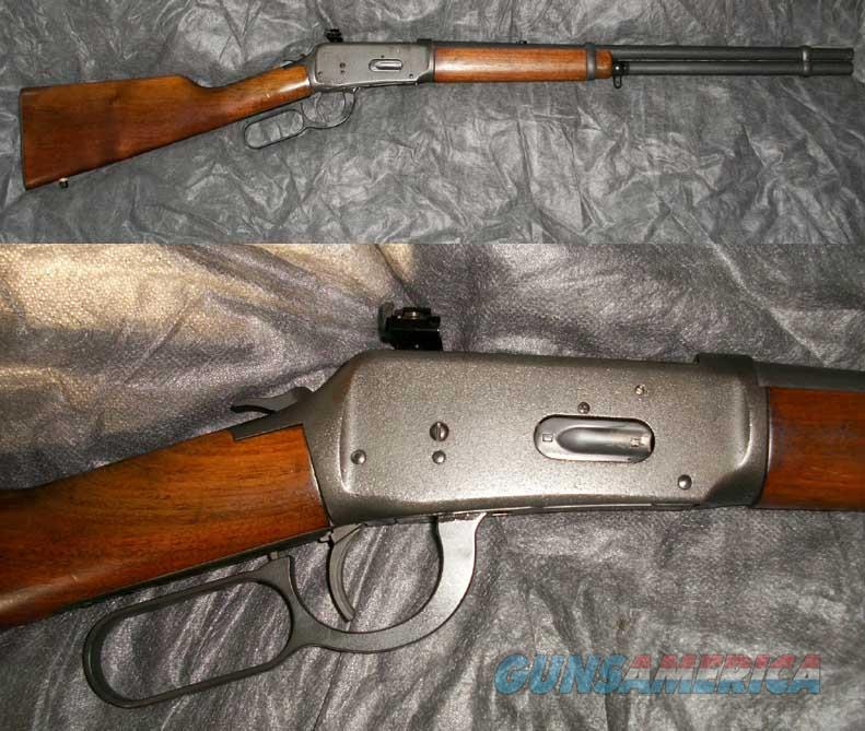 Winchester 1894 with parkerized finish 30-30  Guns > Rifles > Winchester Rifles - Modern Lever > Model 94 > Post-64