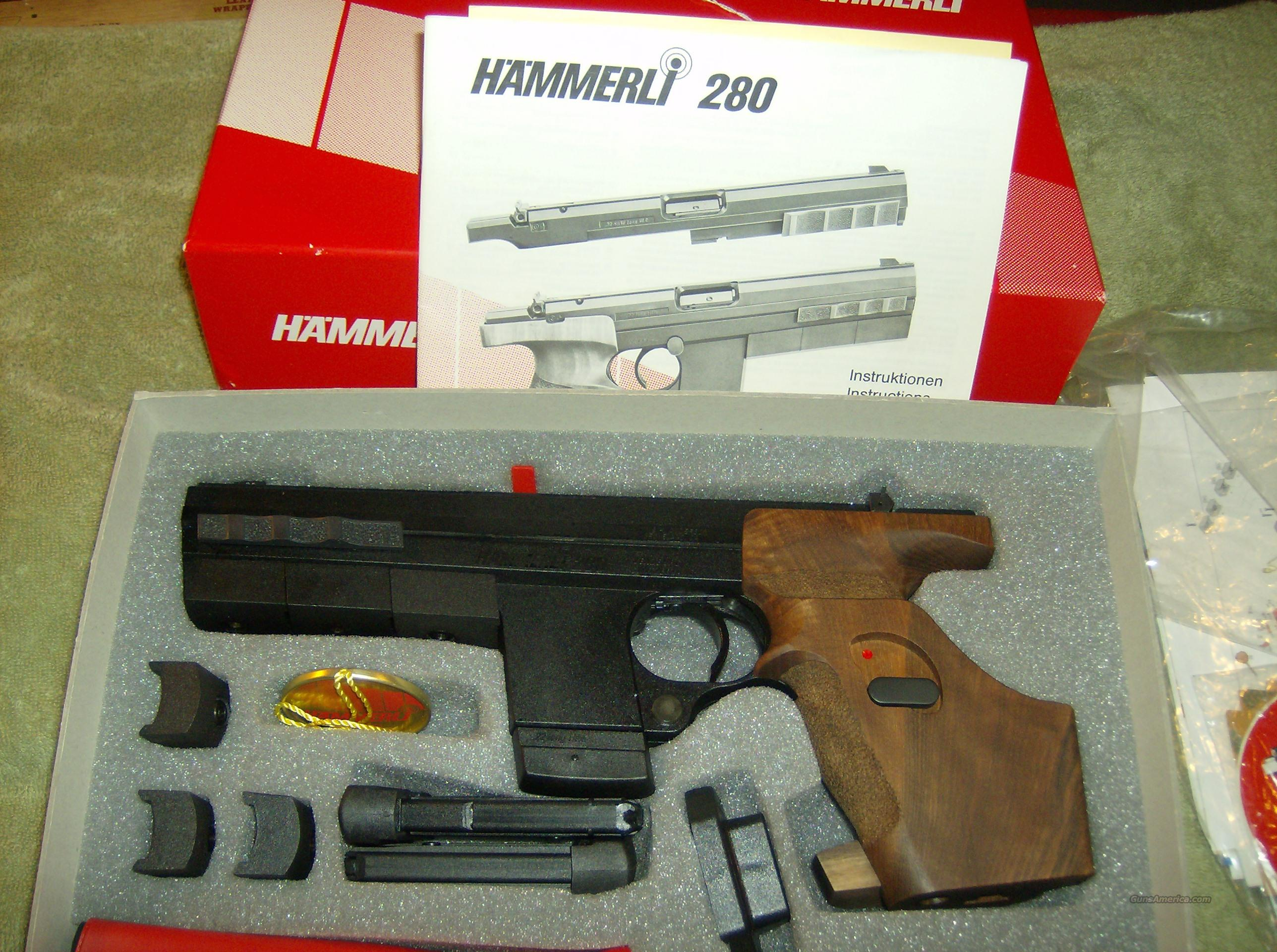 HAMMERLI 280 MODEL NEW IN MAKERS BOX  Guns > Pistols > Hammerli Pistols