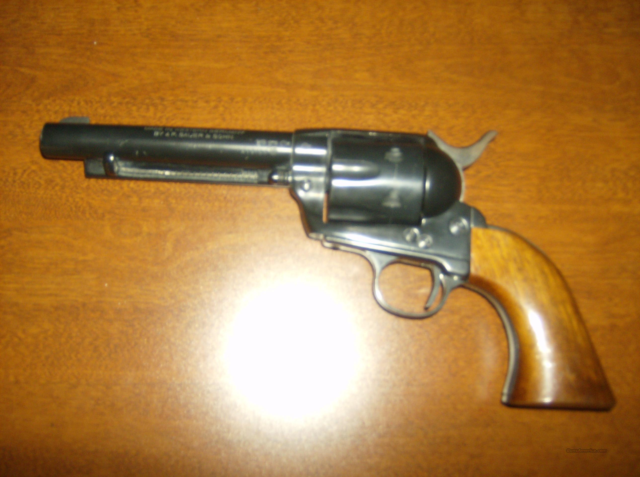 J.P SAUER & SOHN WEST GERMAN  Guns > Pistols > Colt Single Action Revolvers - Modern (22 Cal.)