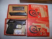 COLT JUNIOR  25CP WITH 22 SHORT CONVERSION  Colt Automatic Pistols (.25, .32, & .380 cal)