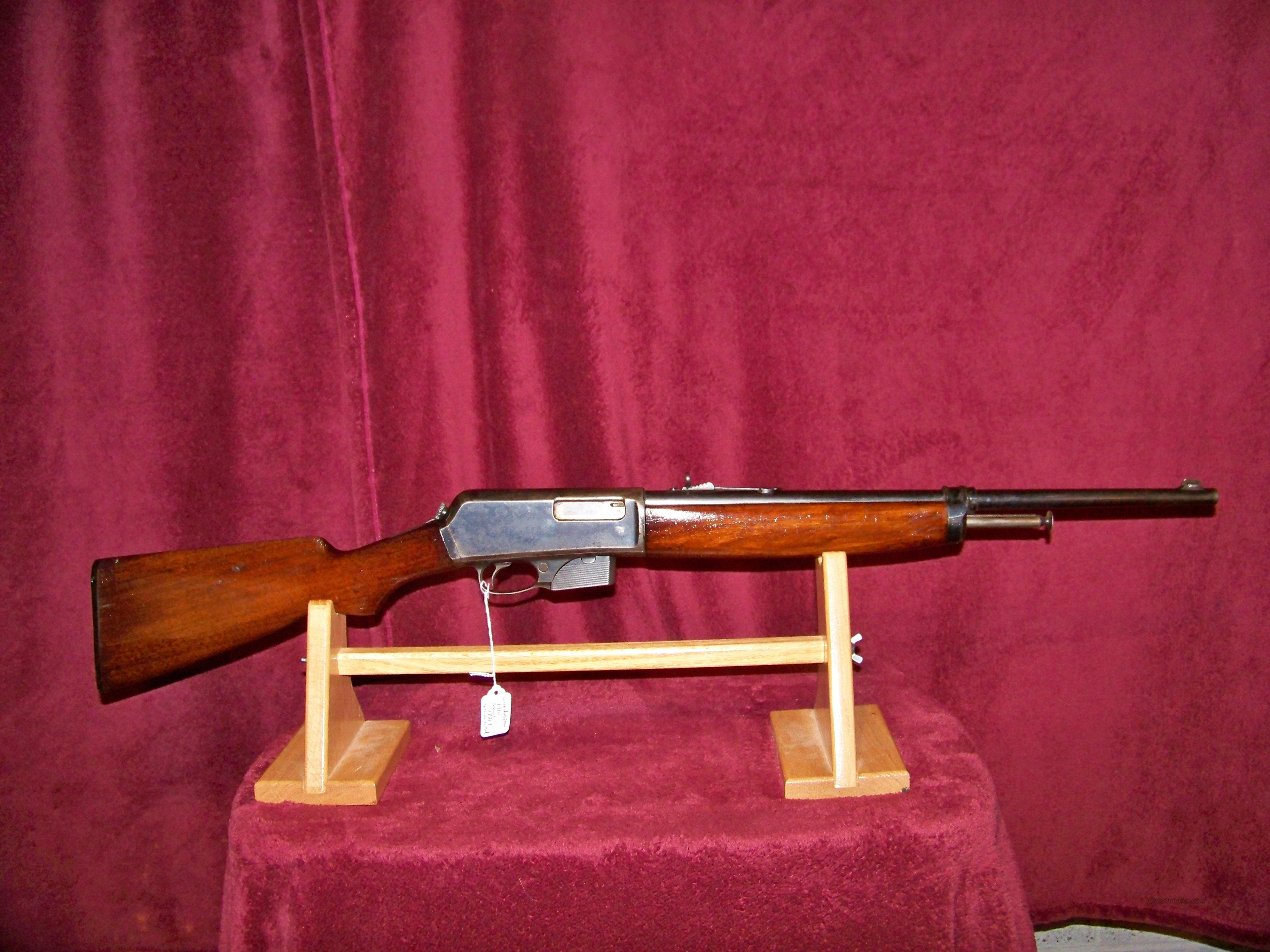 WINCHESTER MODEL 1910 401 SL WIN  Guns > Rifles > Winchester Rifles - Modern Bolt/Auto/Single > Autoloaders
