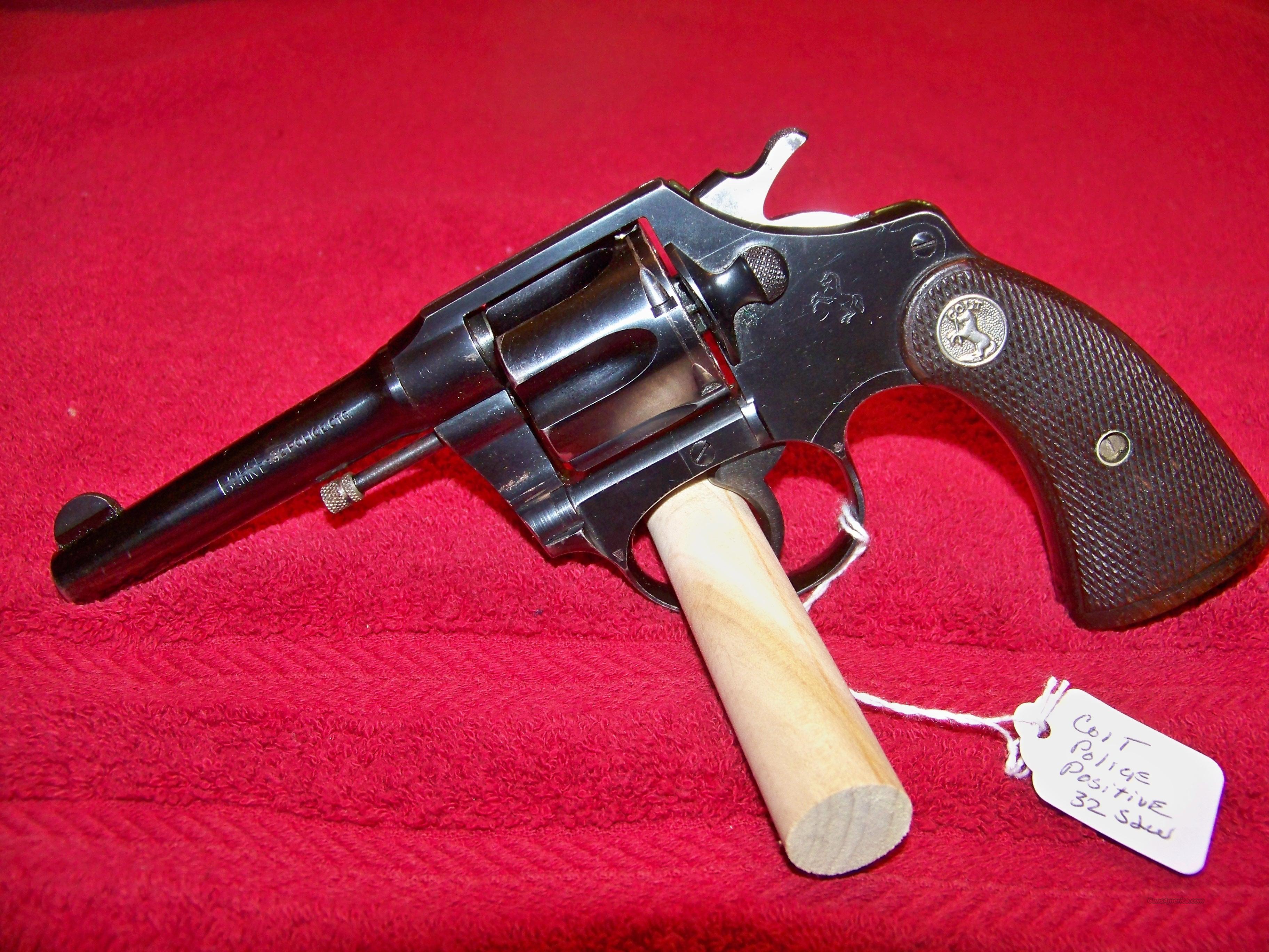 COLT POLICE POSITIVE SECOND MODEL 32 COLT  Guns > Pistols > Colt Double Action Revolvers- Pre-1945